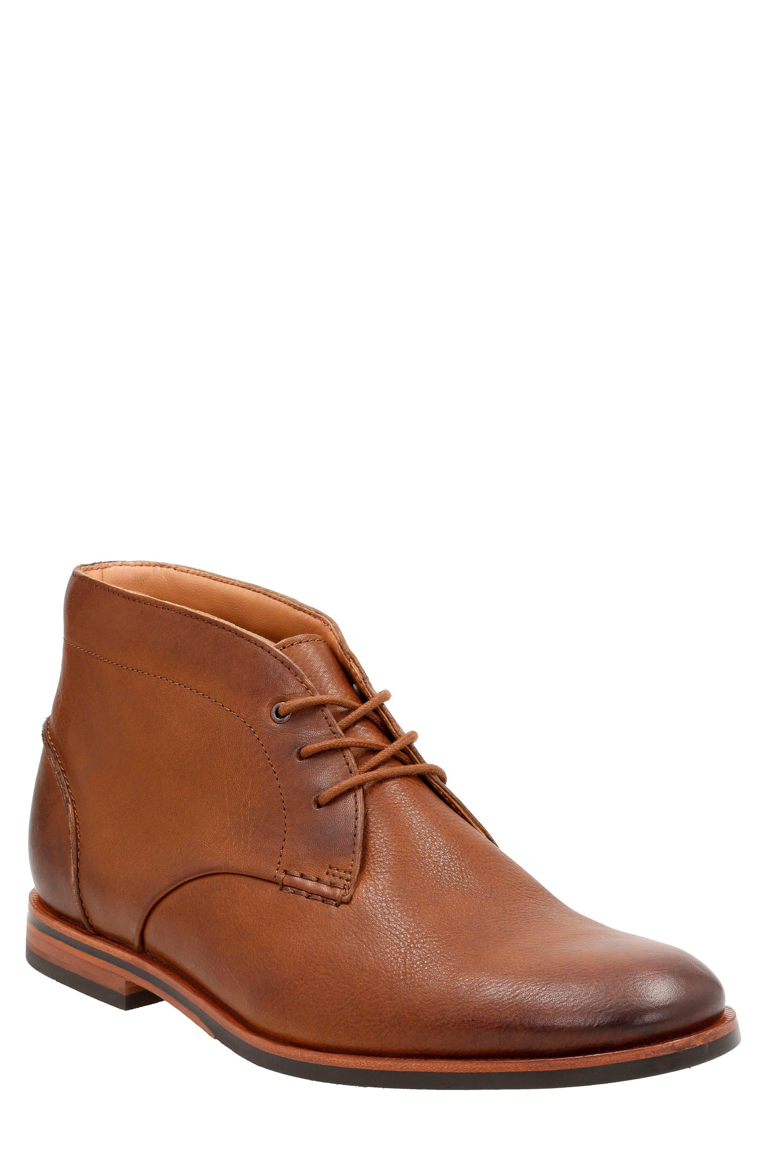 Clarks® Broyd Mid Chukka Boot (Men)