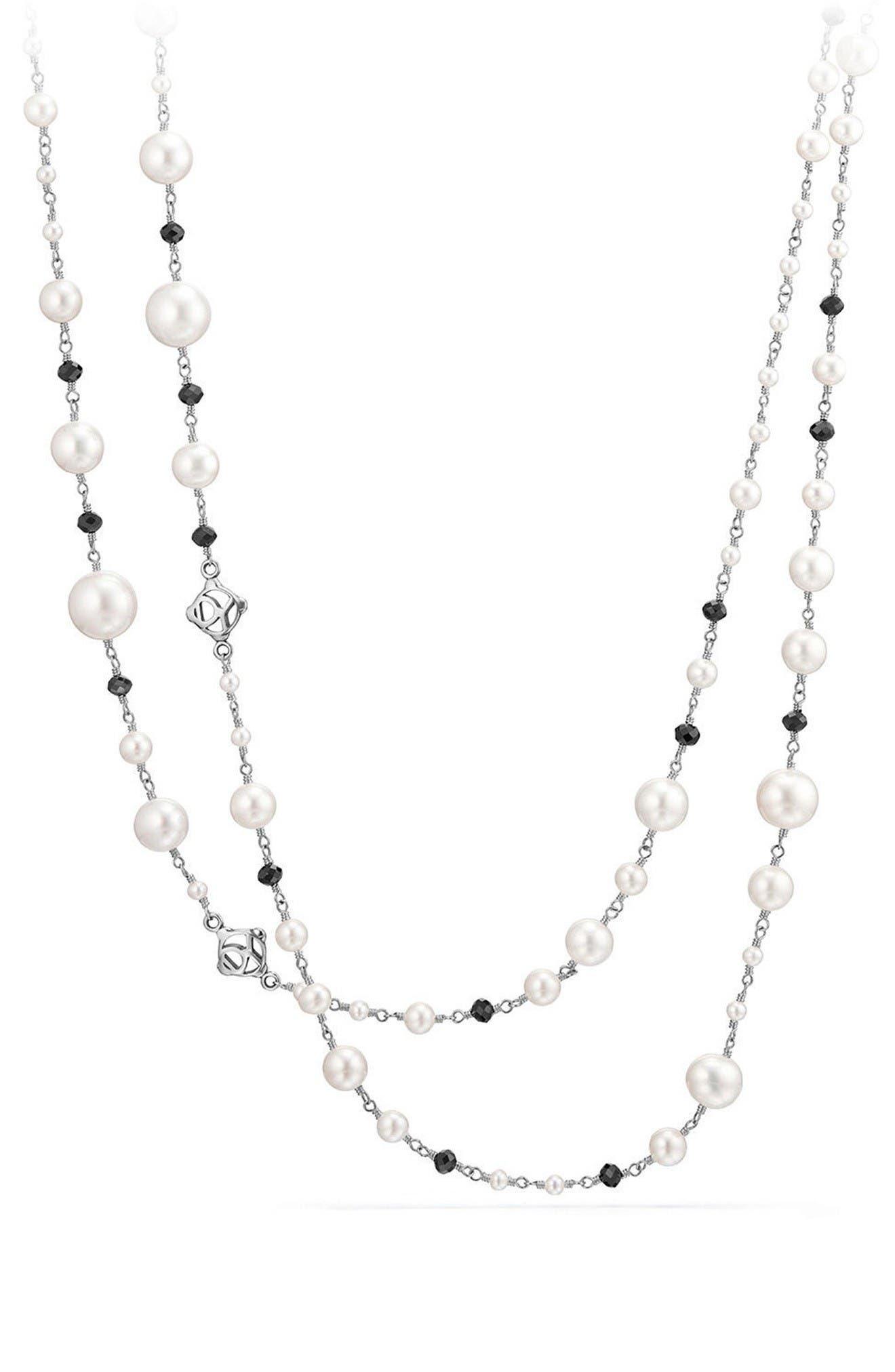 DAVID YURMAN Solari Pearl & Bead Necklace