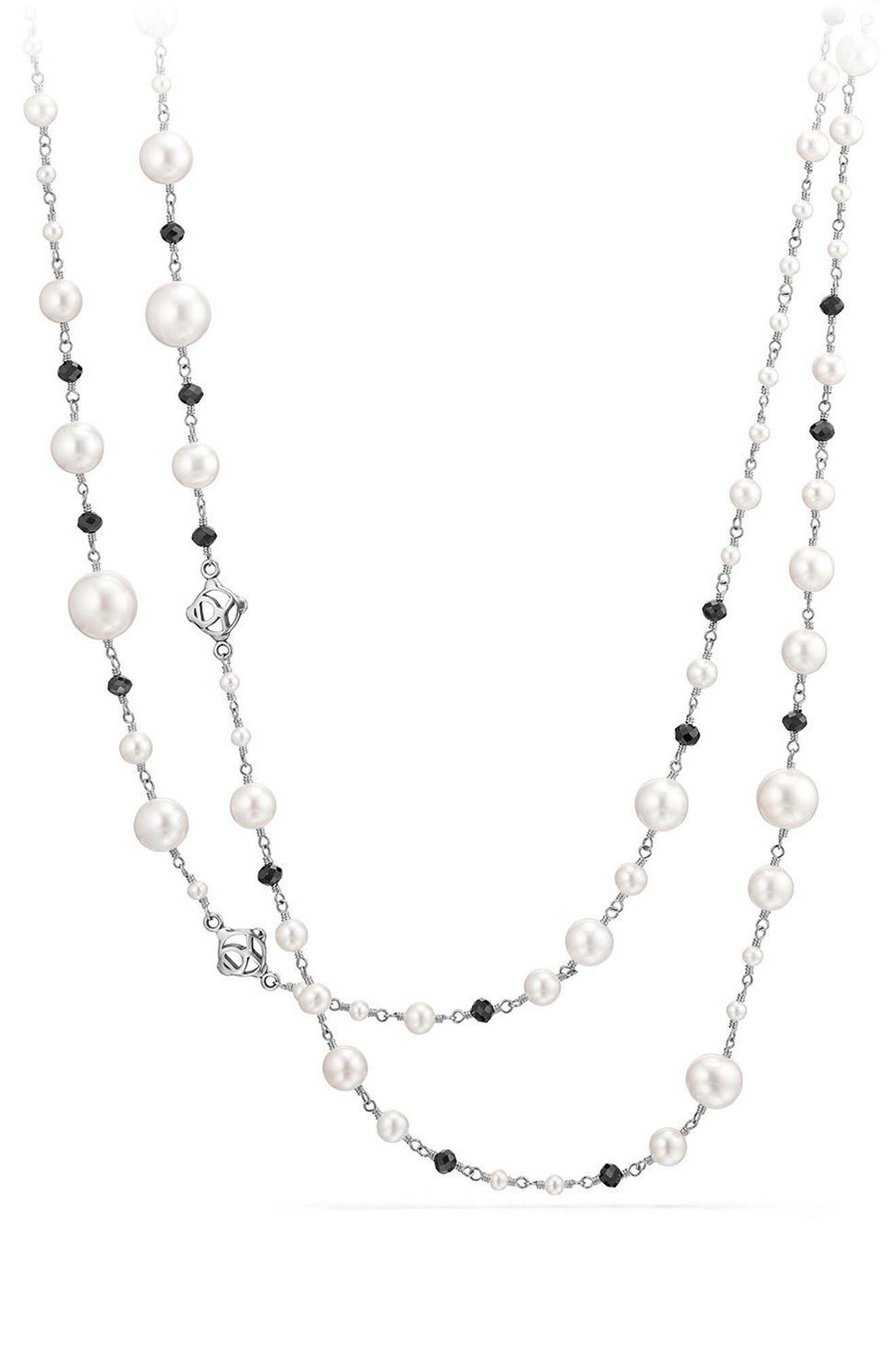 Alternate Image 1 Selected - David Yurman Solari Pearl & Bead Necklace