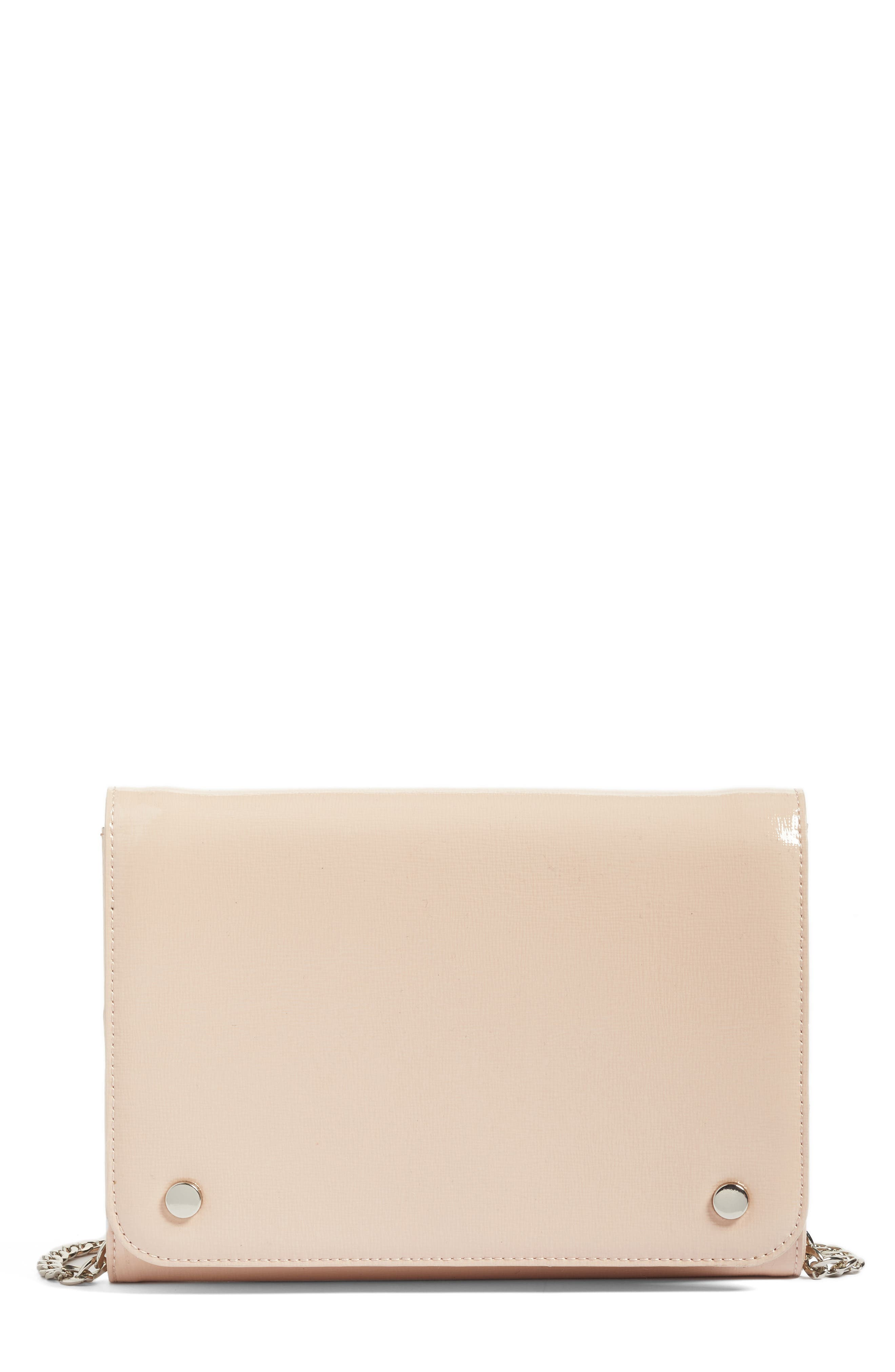 Nordstrom Leather Wallet on a Chain