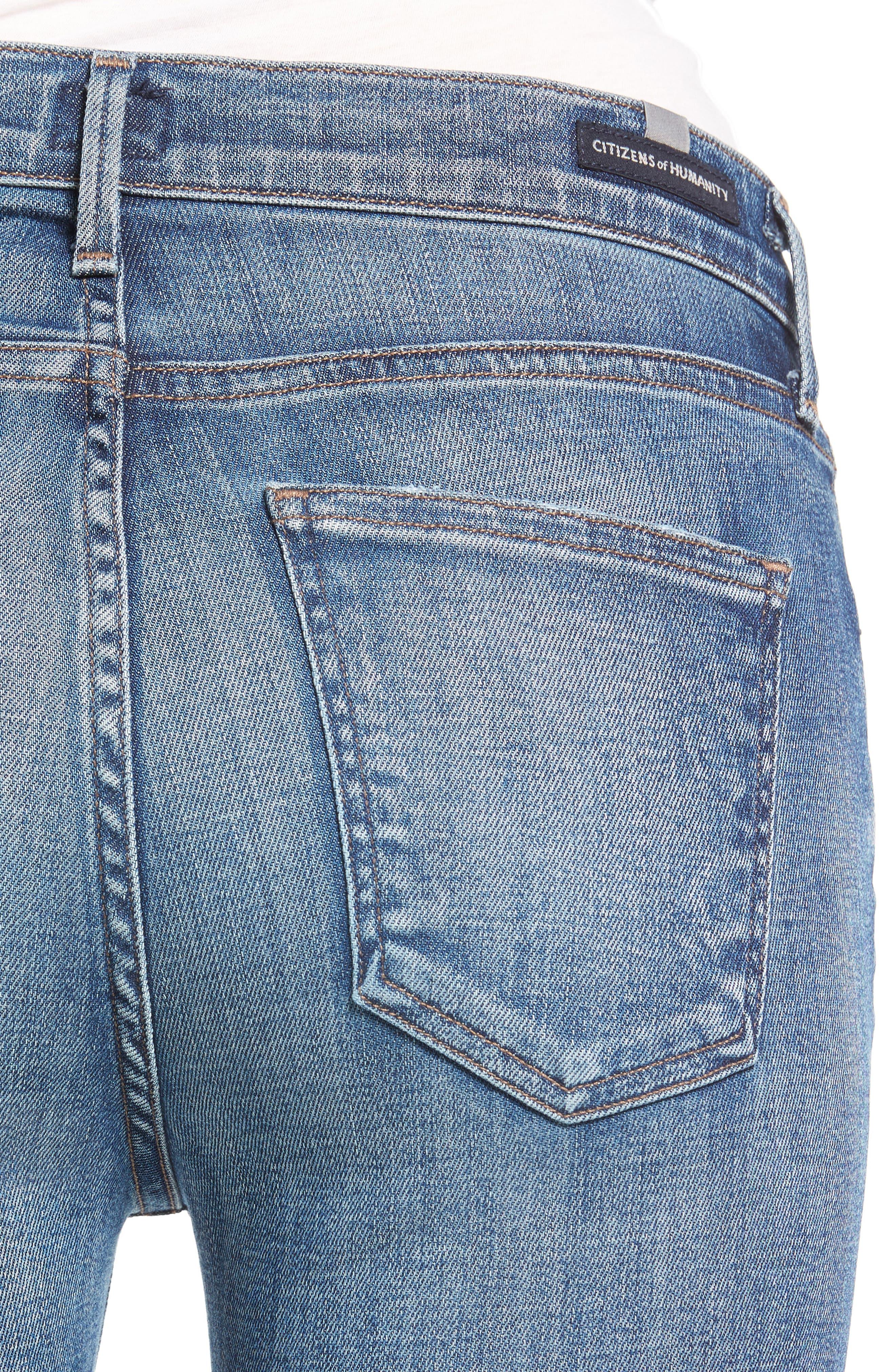 Alternate Image 4  - Citizens of Humanity Rocket High Waist Crop Skinny Jeans (Voodoo)