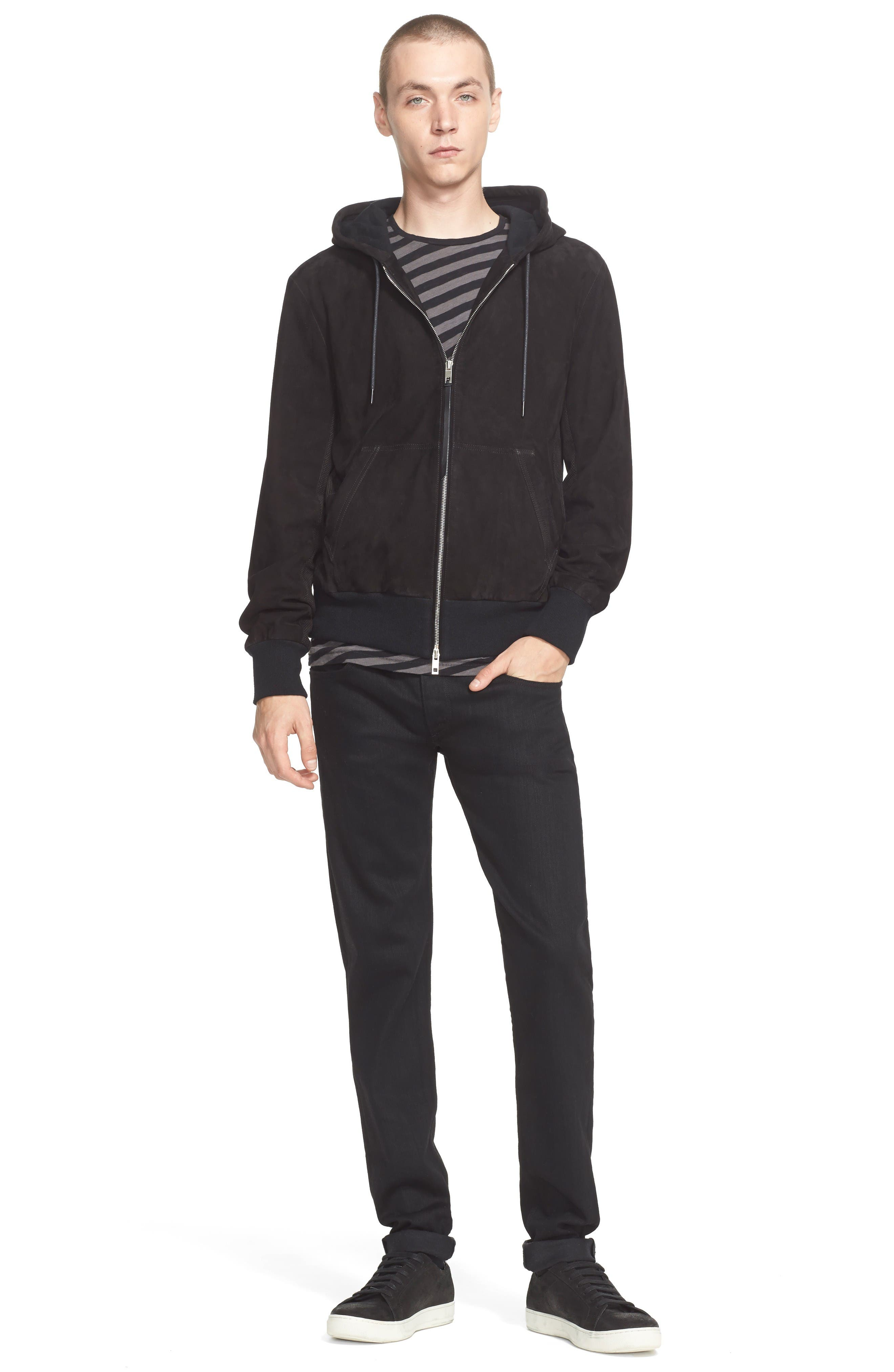 Alternate Image 10  - rag & bone Standard Issue Fit 1 Skinny Fit Jeans