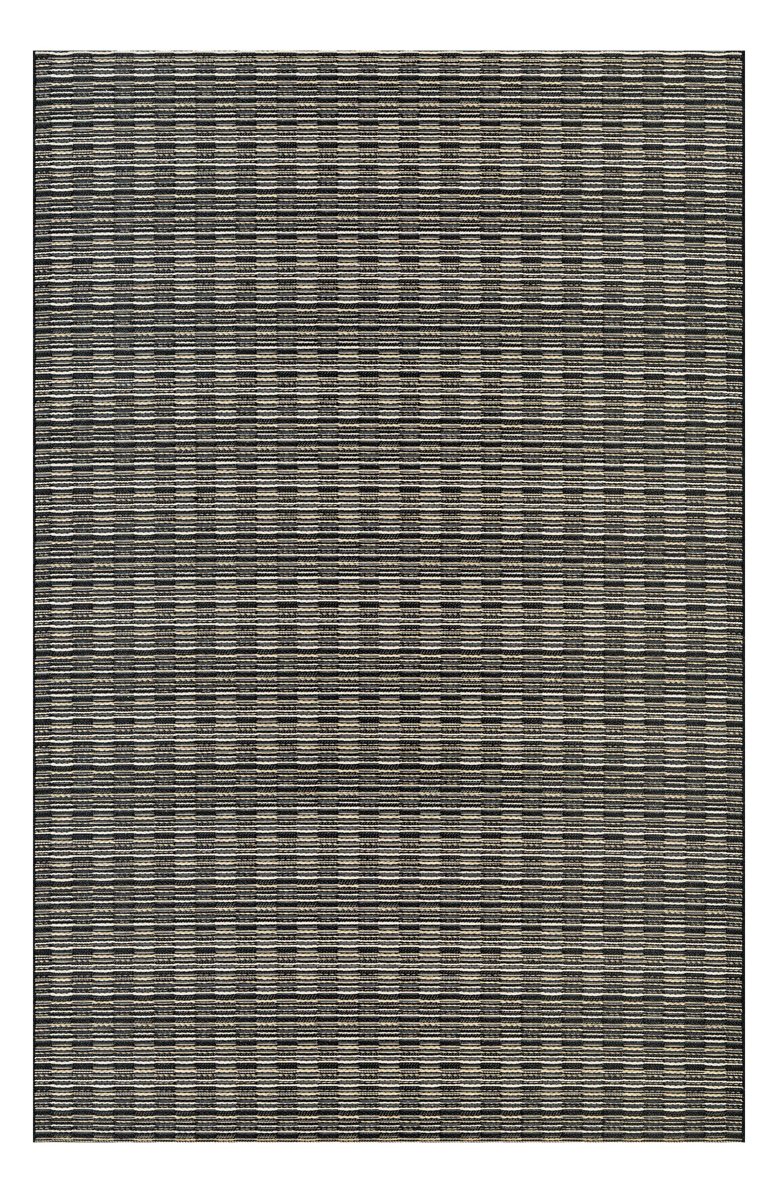 Barnstable Indoor/Outdoor Rug,                         Main,                         color, Black/ Tan
