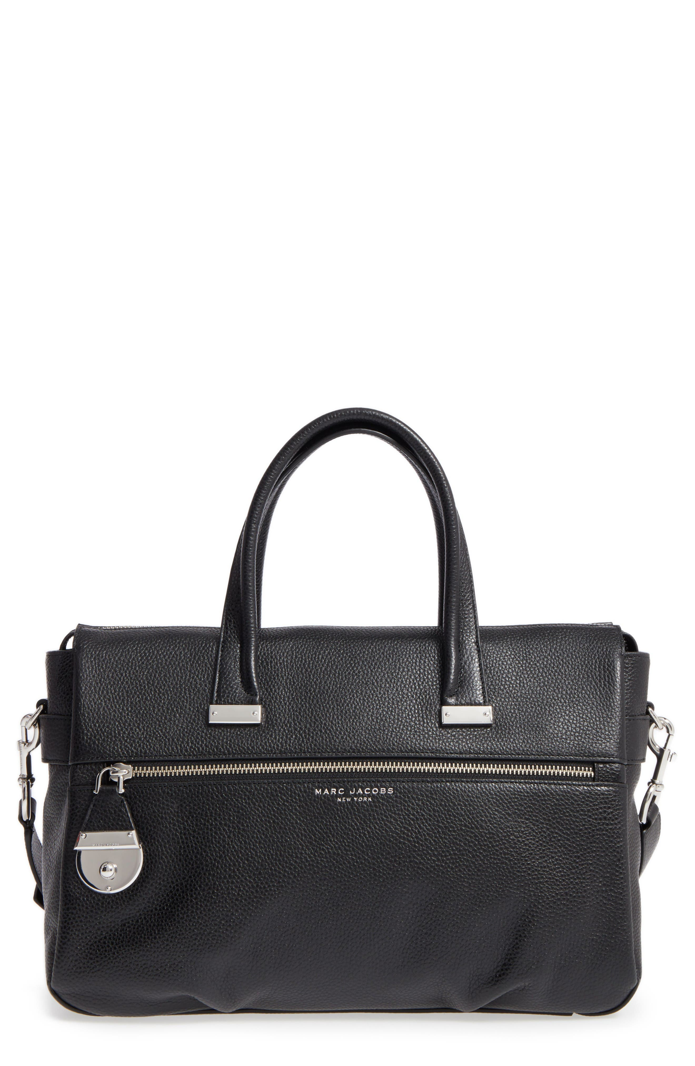 MARC JACOBS The Standard Medium East/West Leather Tote