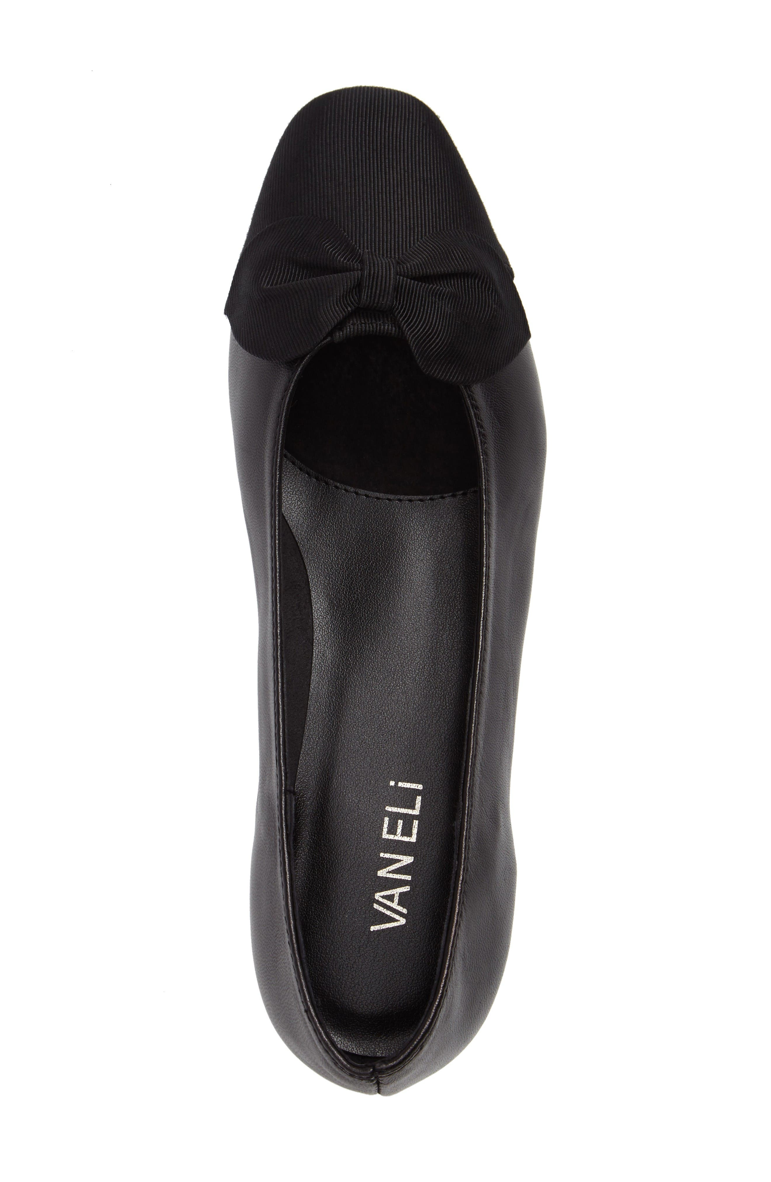 Alternate Image 5  - VANELi Favor Bow Flat (Women)