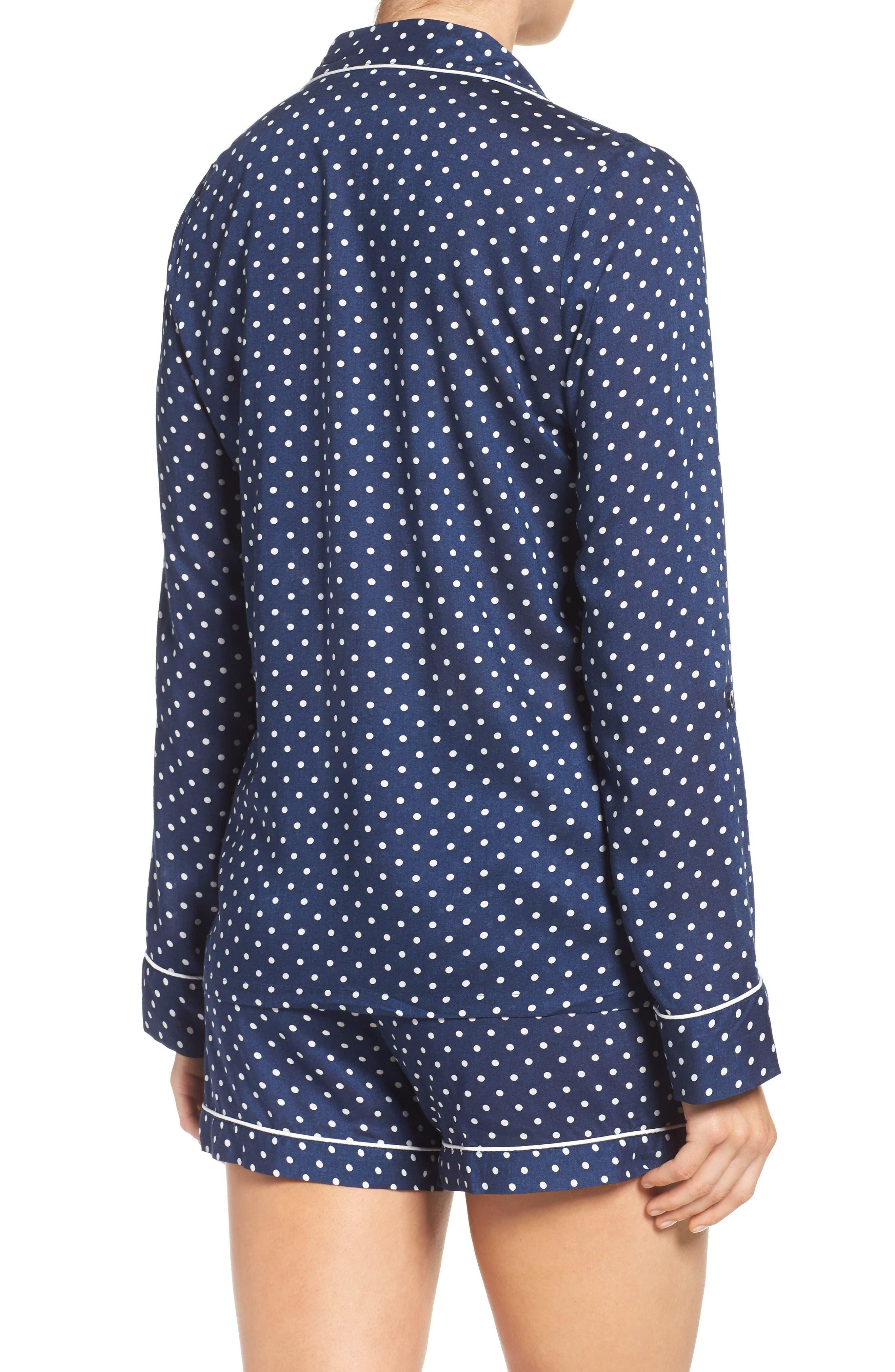 Alternate Image 2  - Nordstrom Lingerie Woven Short Pajamas