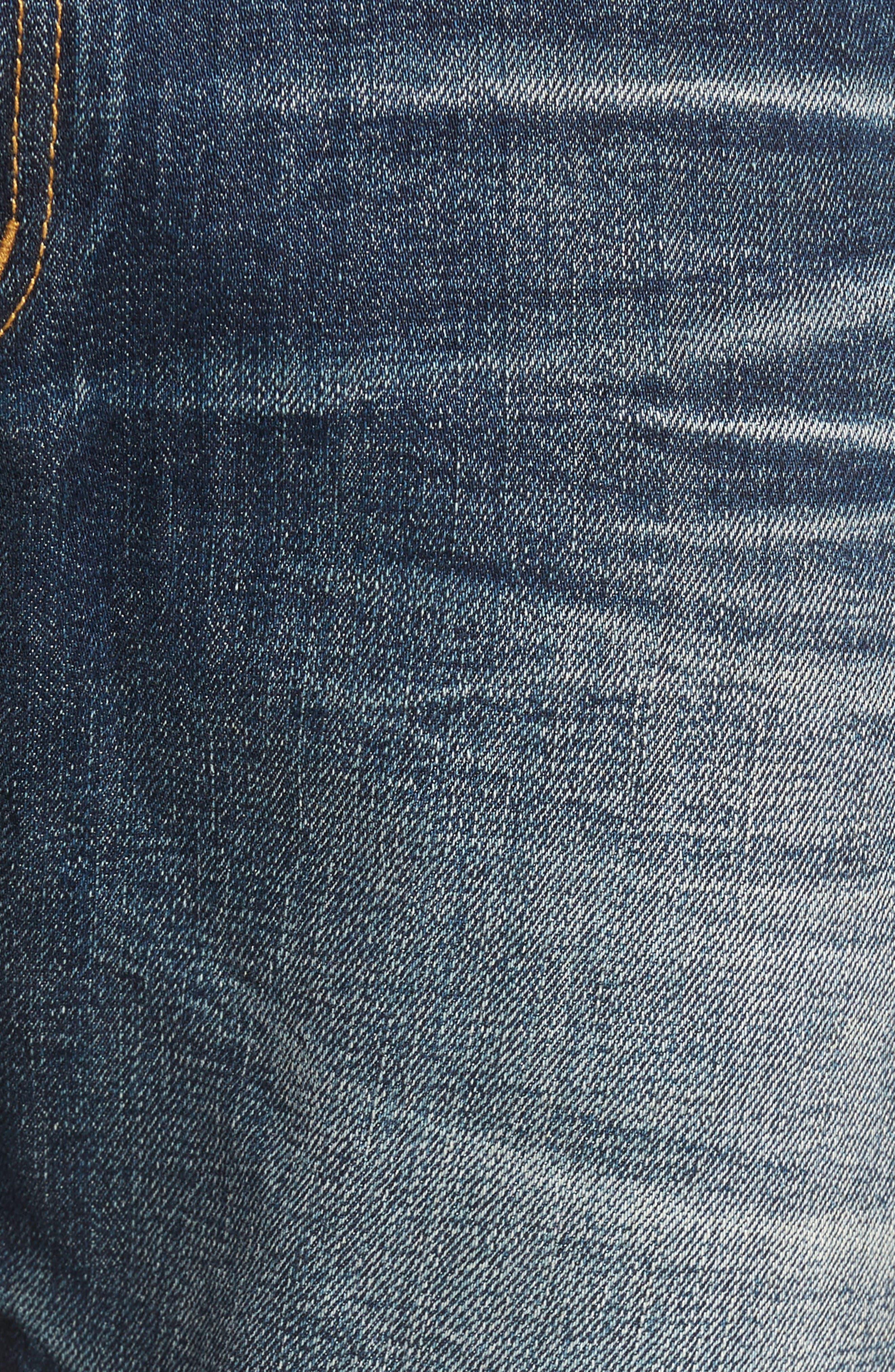 Alternate Image 5  - Fidelity Denim Torino Slim Fit Jeans (Eagle Dark Vintage)