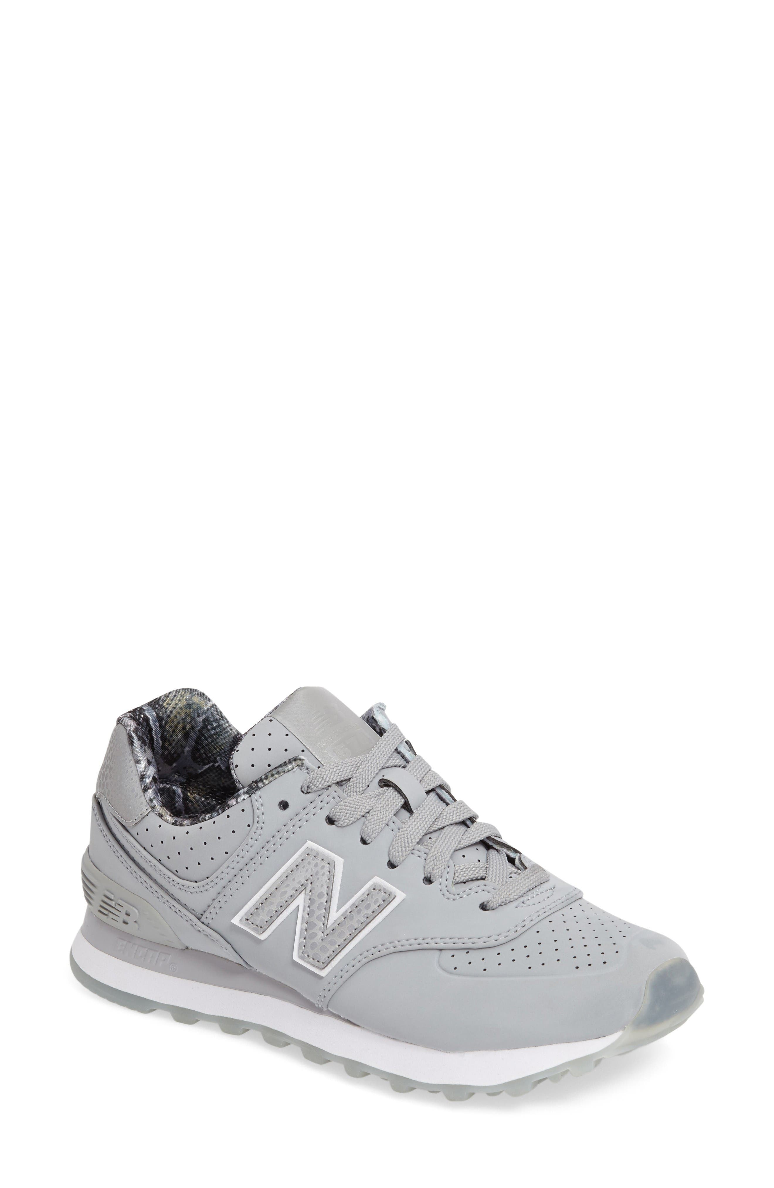 Alternate Image 1 Selected - New Balance 574 Luxe Rep Sneaker (Women)