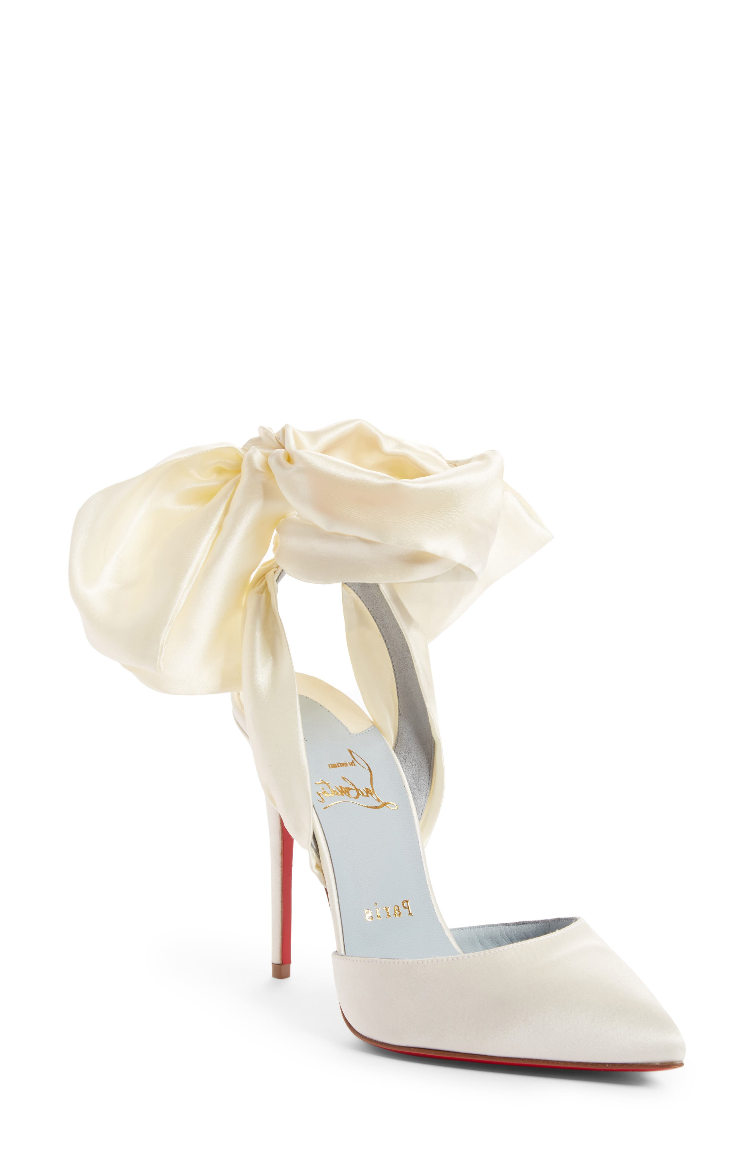Alternate Image 1 Selected - Christian Louboutin Douce Du Desert Ankle Tie Pump (Women)
