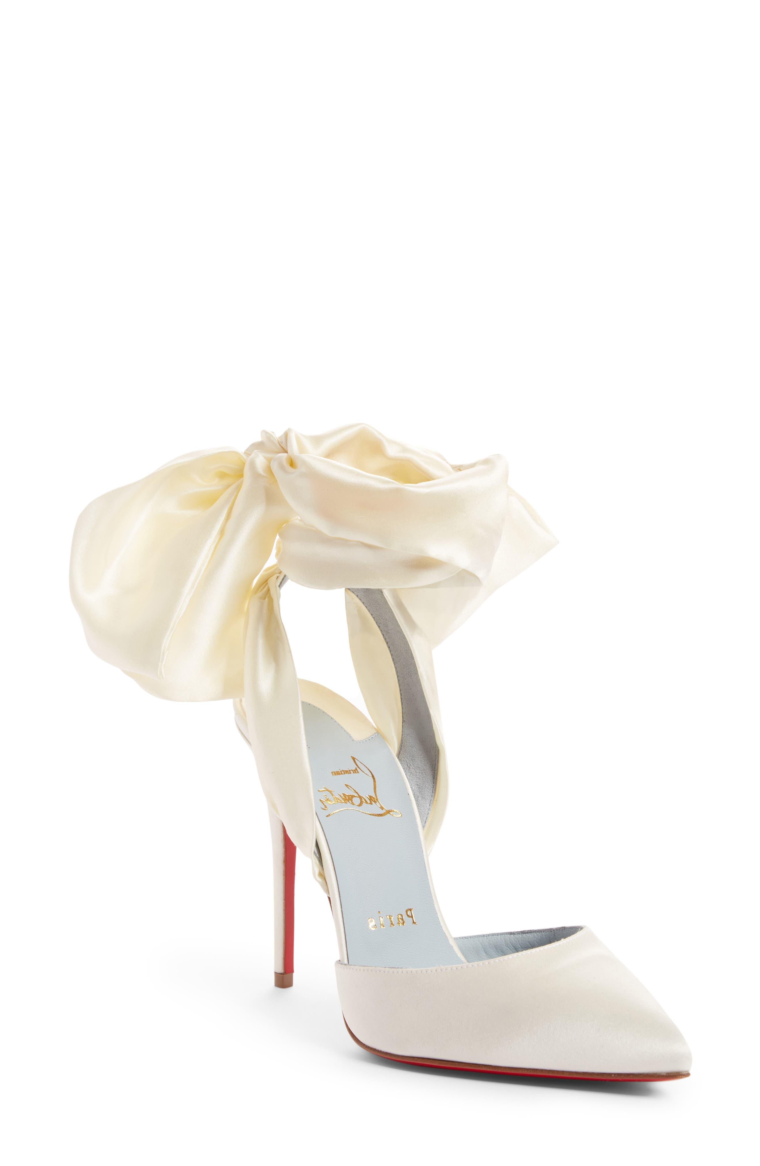 Main Image - Christian Louboutin Douce Du Desert Ankle Tie Pump (Women)