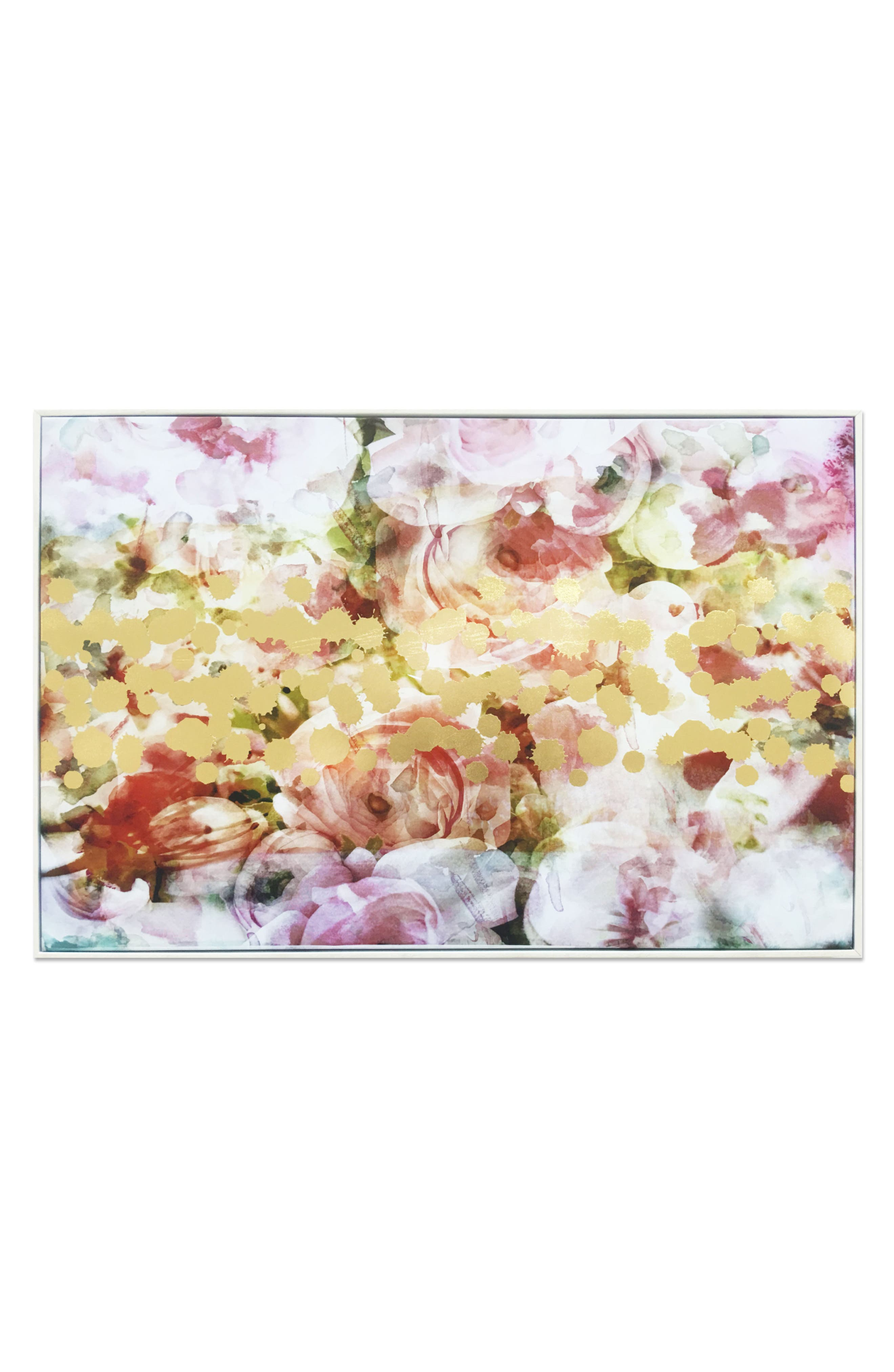 Wynwood Peonies Lover Canvas Wall Art,                             Main thumbnail 1, color,                             Pink