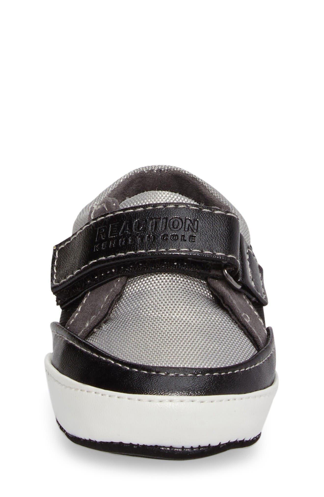 Danny Sneaker,                             Alternate thumbnail 4, color,                             Black/ Grey