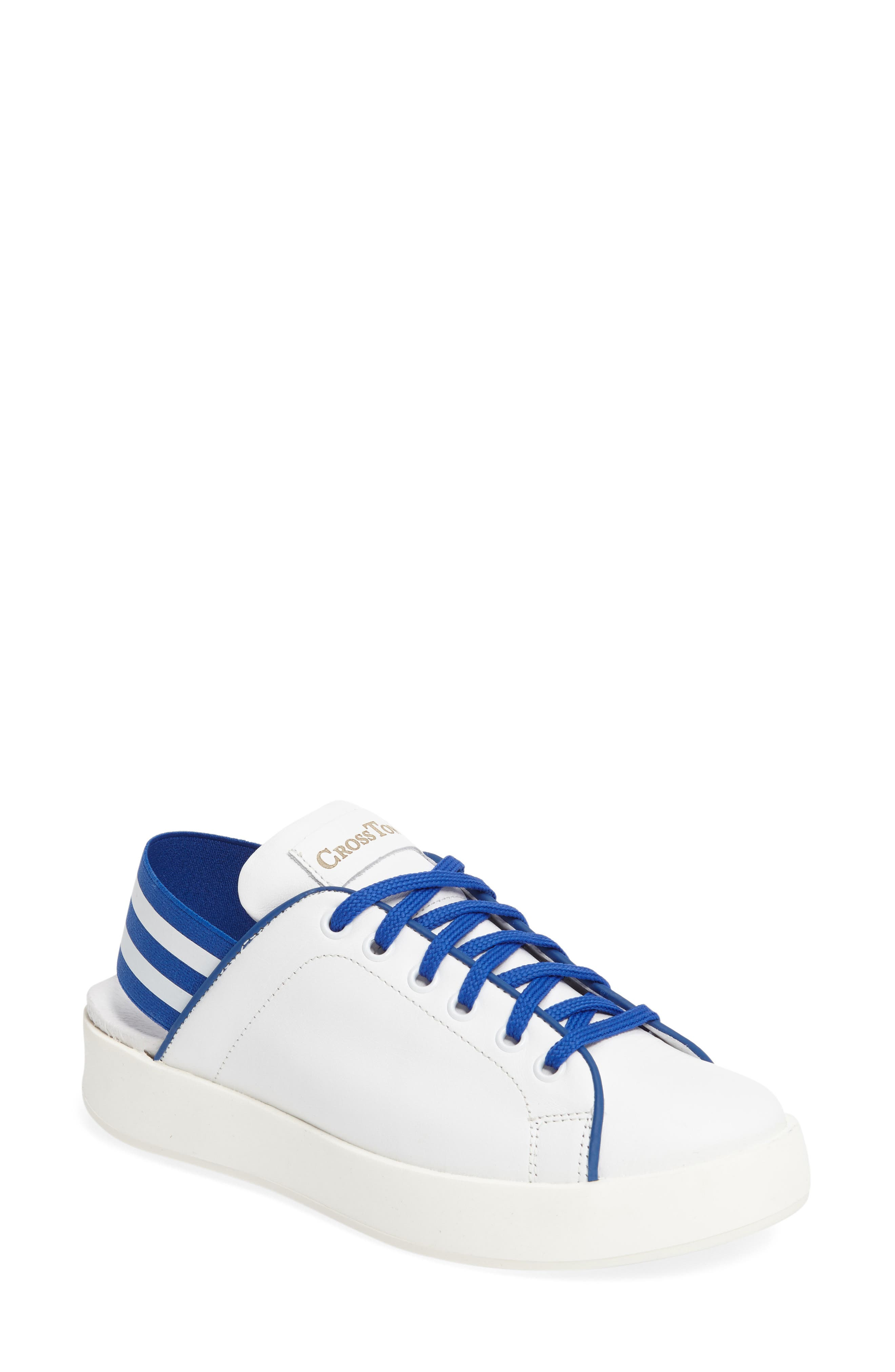 CROSSTOWN Rum Leather Sneaker