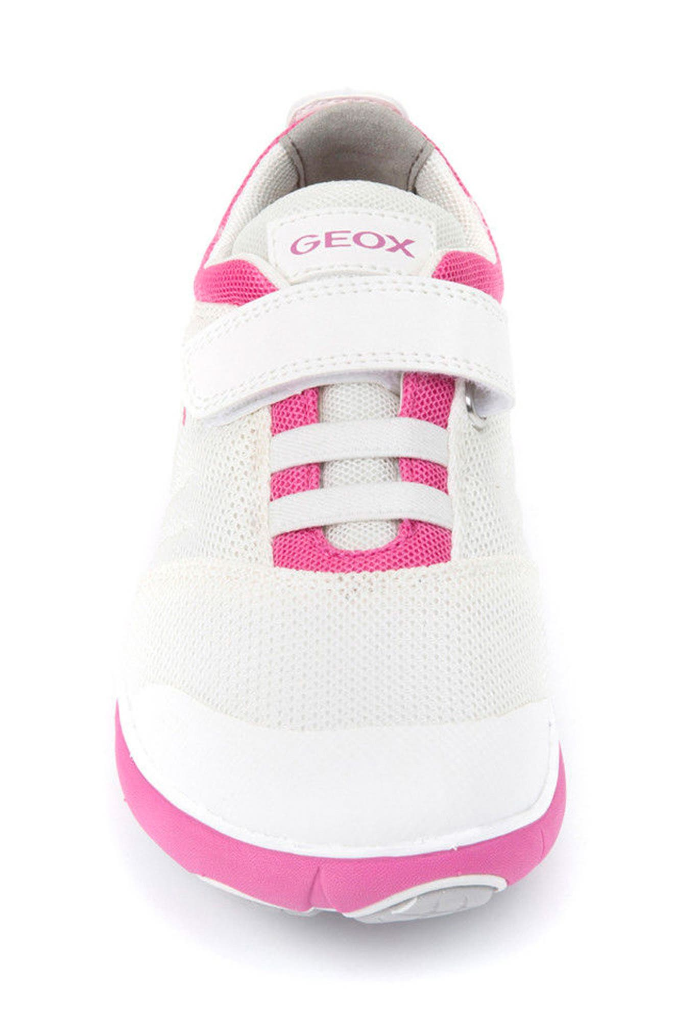 Alternate Image 4  - Geox Jr Nebula Sneaker (Toddler, Little Kid & Big Kid)