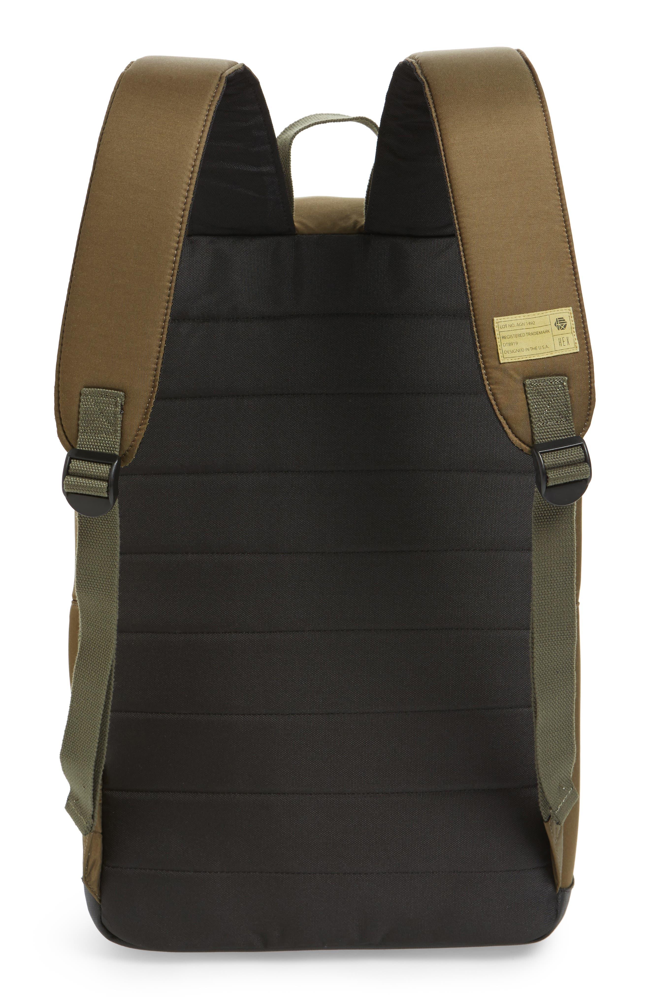Alternate Image 3  - HEX Radar Origin Water Resistant Commuter/Travel Laptop Backpack