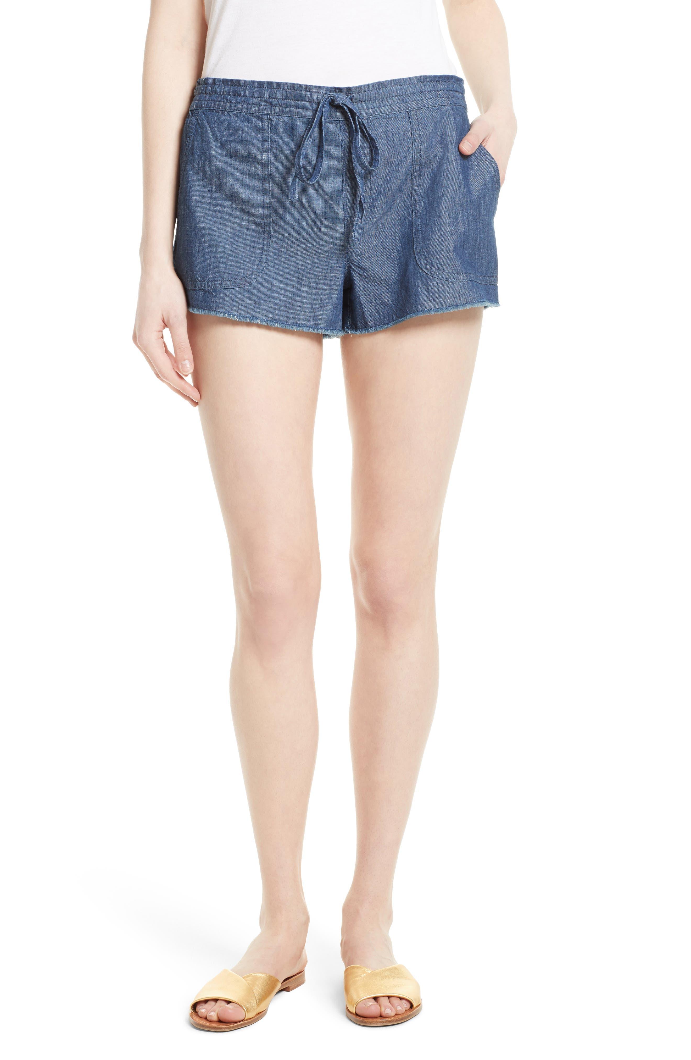 Alternate Image 1 Selected - Soft Joie Kalpana Chambray Shorts