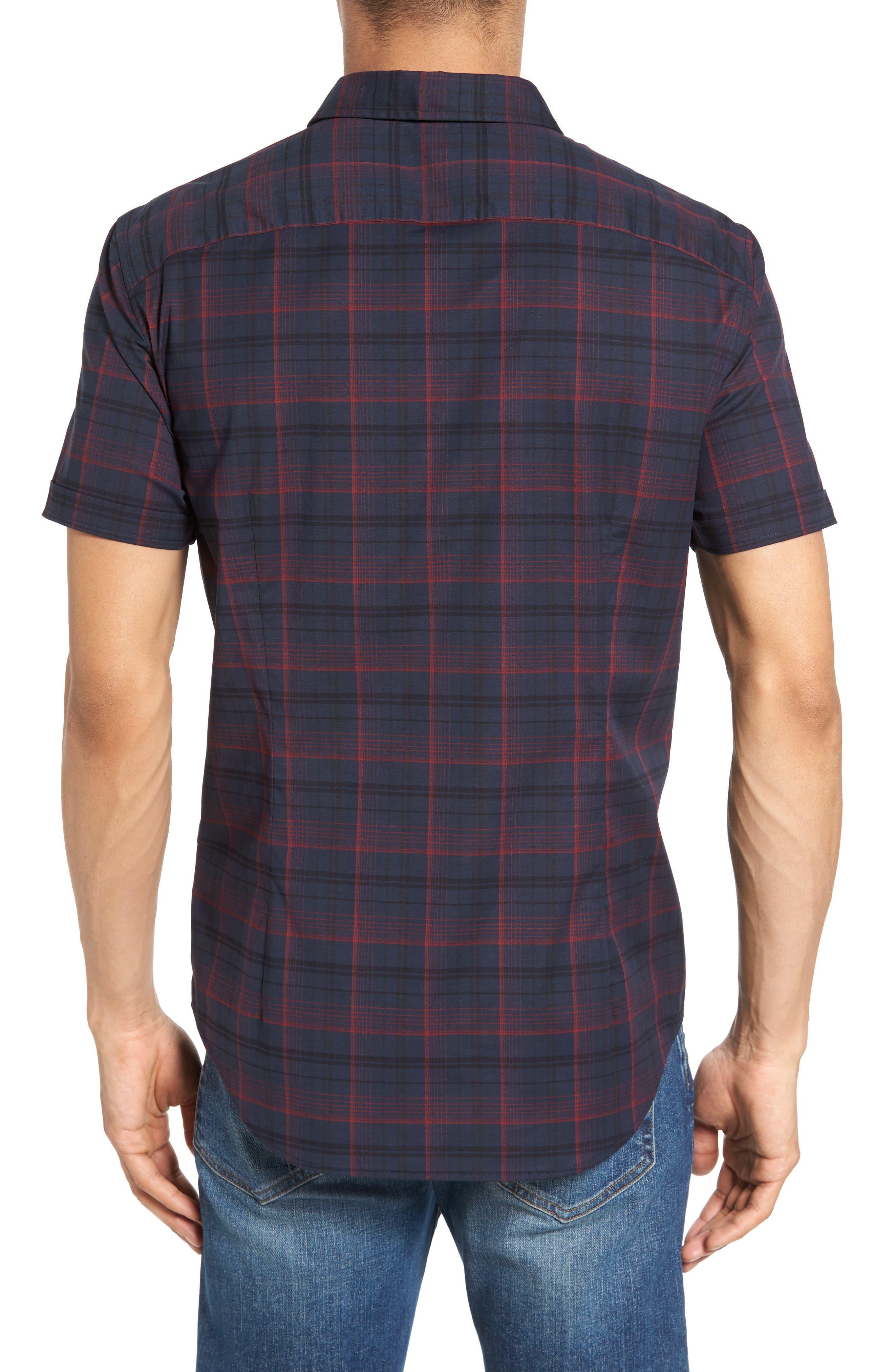 Alternate Image 2  - John Varvatos Star USA Cotton Sport Shirt