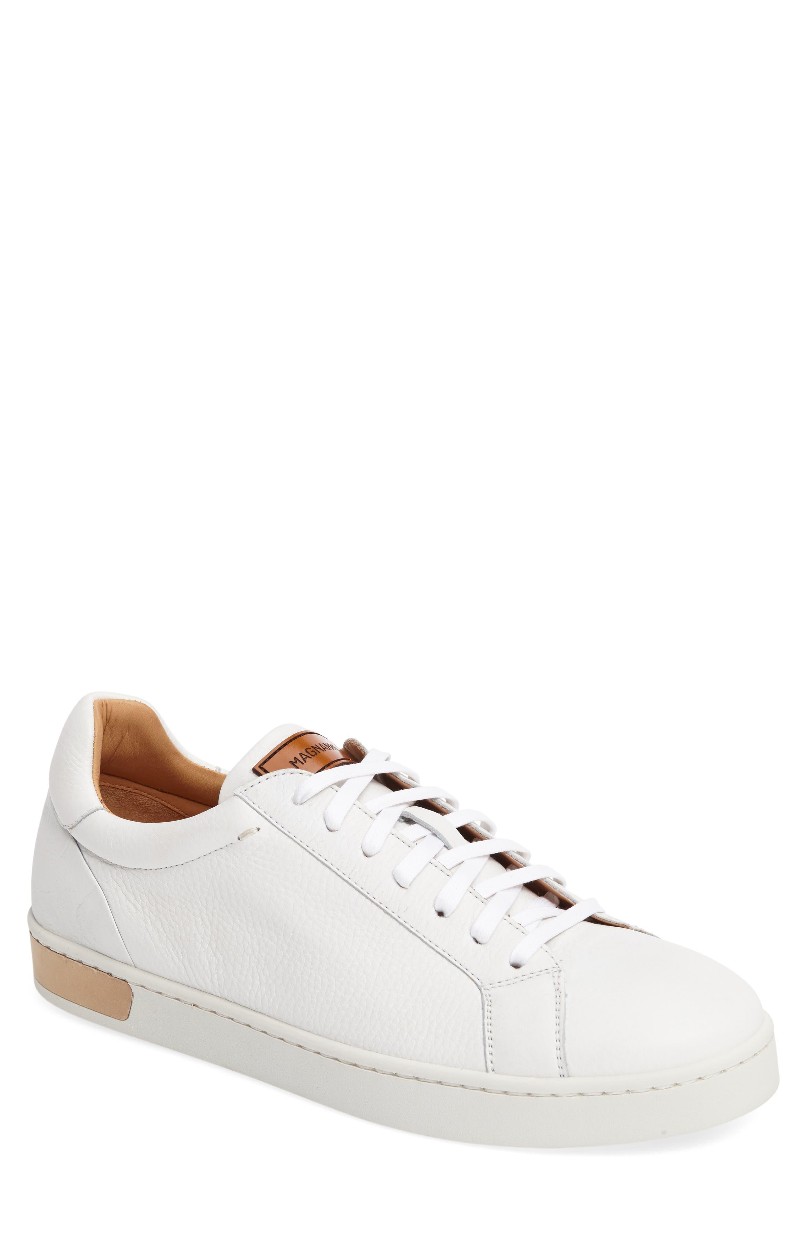 Caballero Sneaker,                         Main,                         color, White Leather