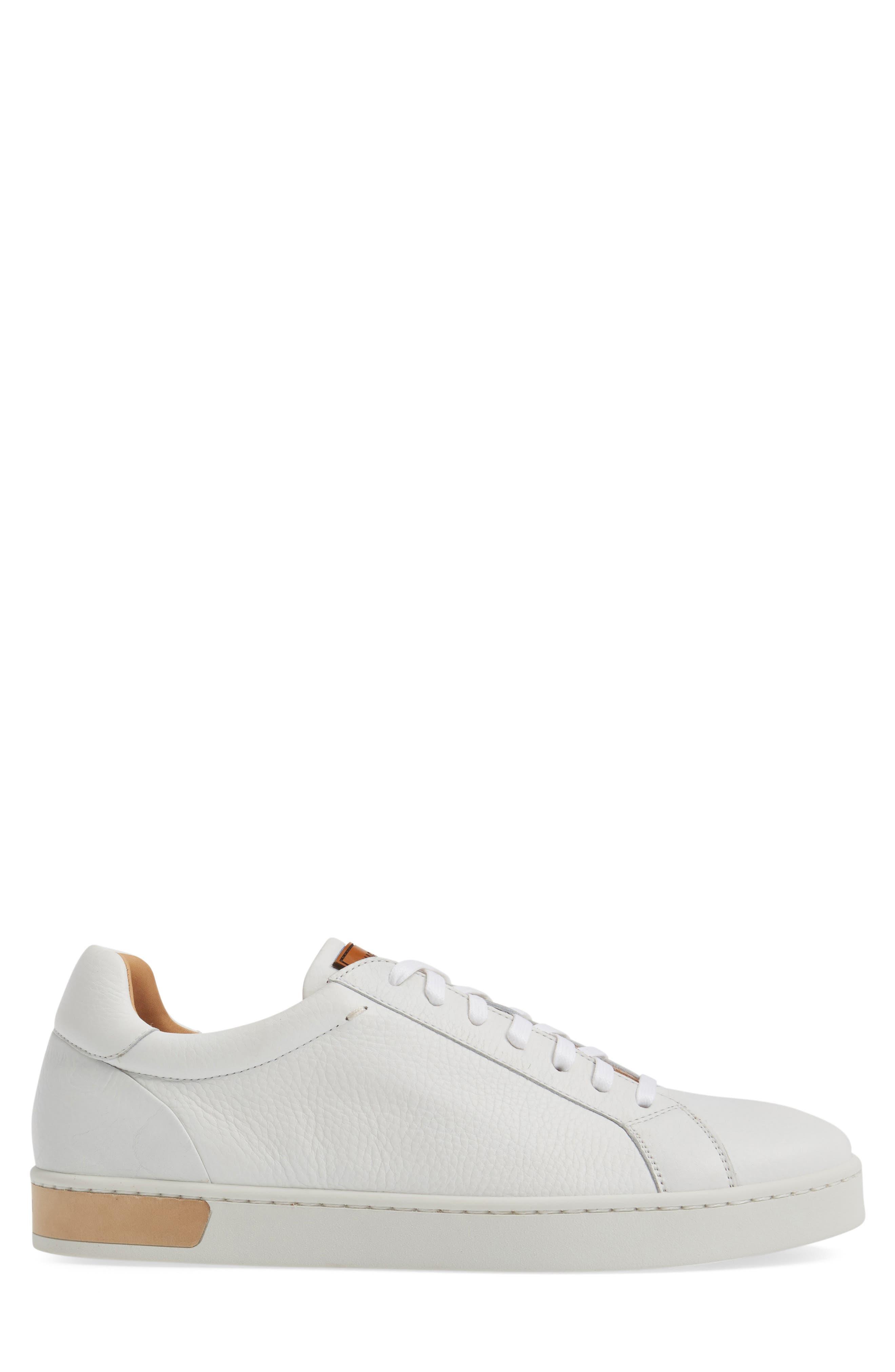 Caballero Sneaker,                             Alternate thumbnail 3, color,                             White Leather