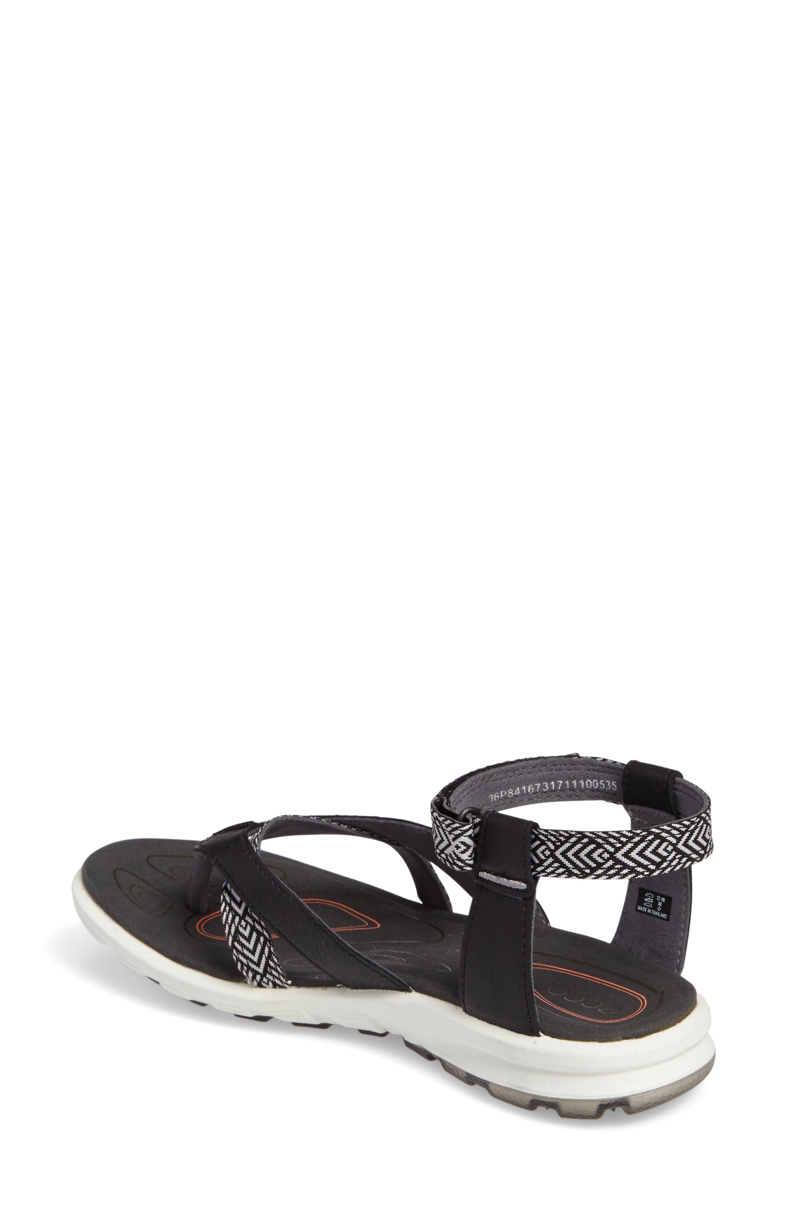 Cruise Sport Sandal,                             Alternate thumbnail 2, color,                             Black Leather
