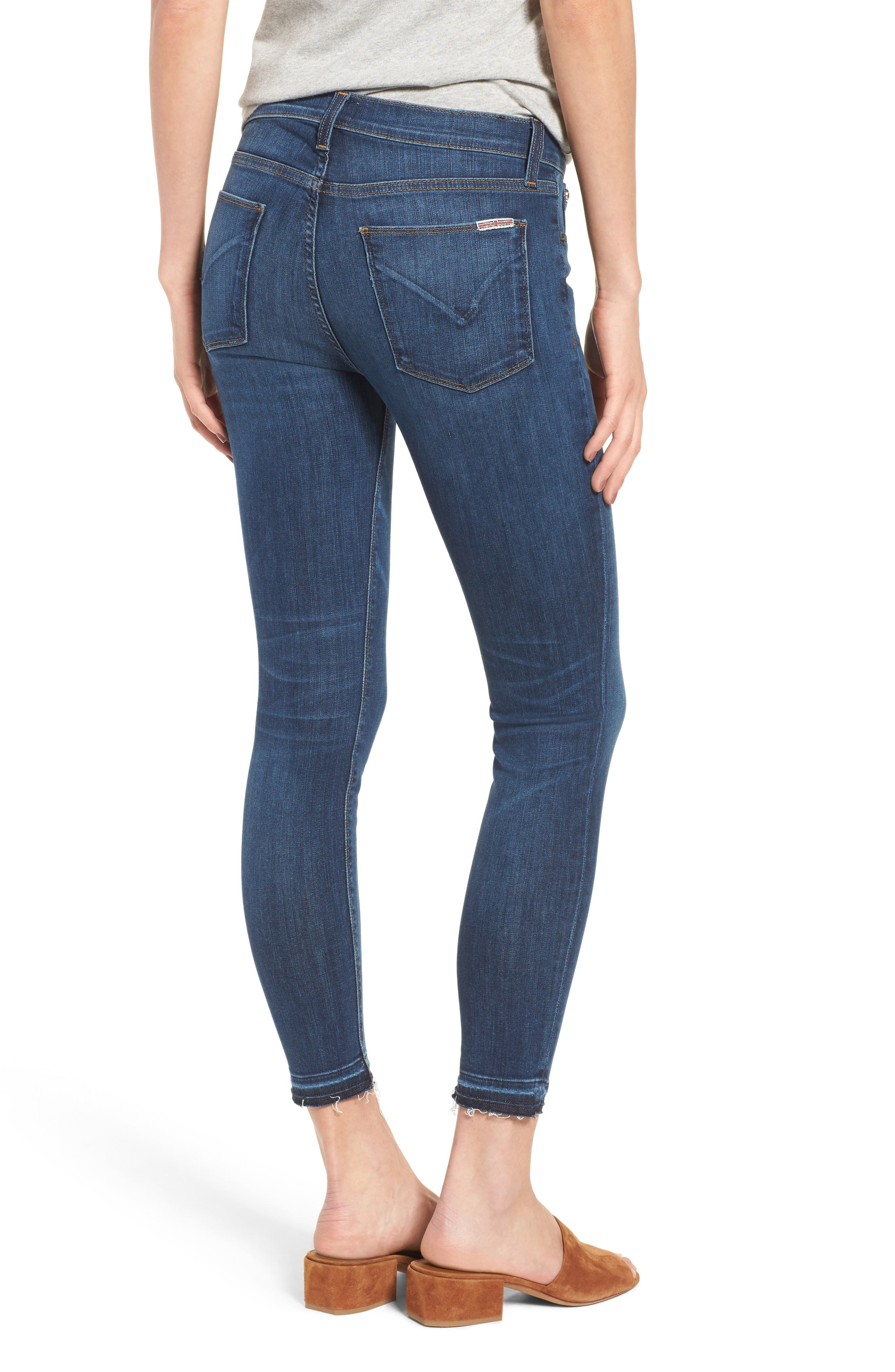 Krista Crop Super Skinny Jeans,                             Alternate thumbnail 2, color,                             Dream On