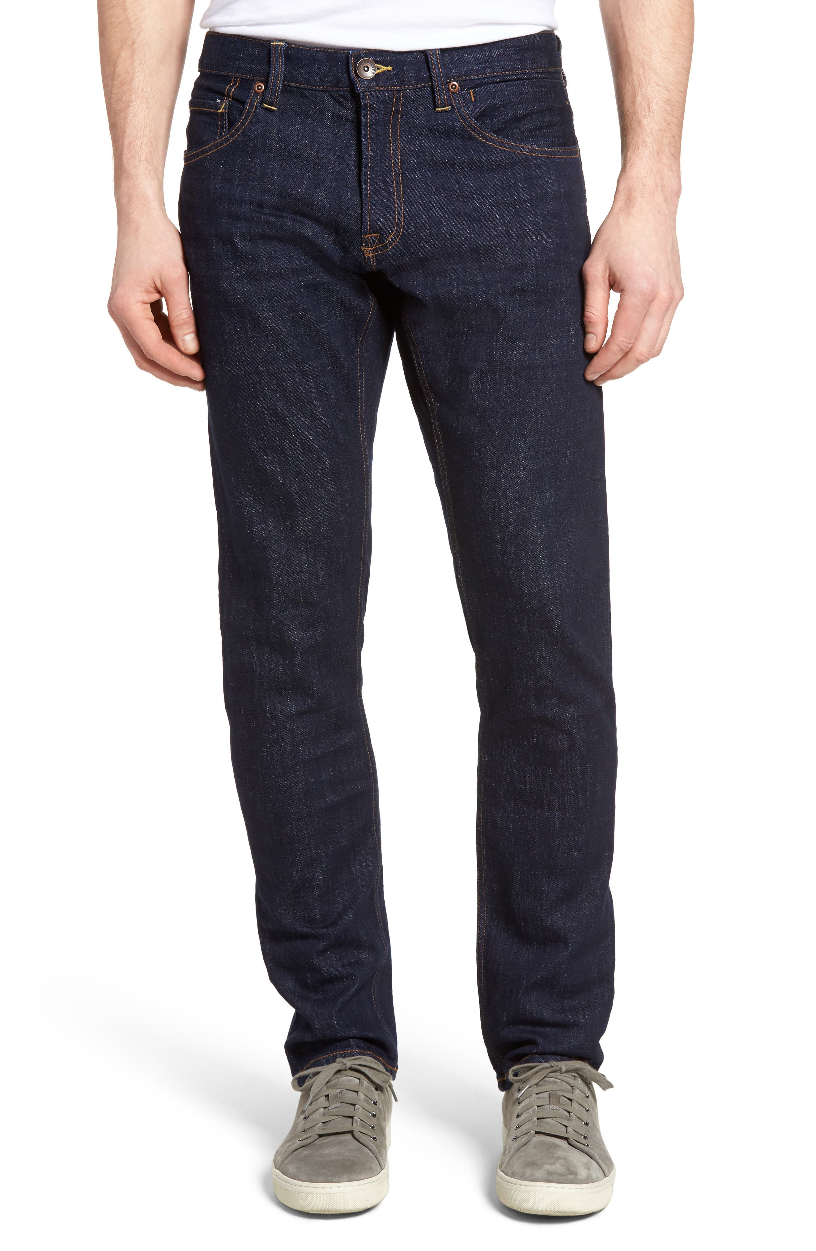 Alternate Image 1 Selected - Quiksilver Revolver Slim Fit Jeans (Rinse)