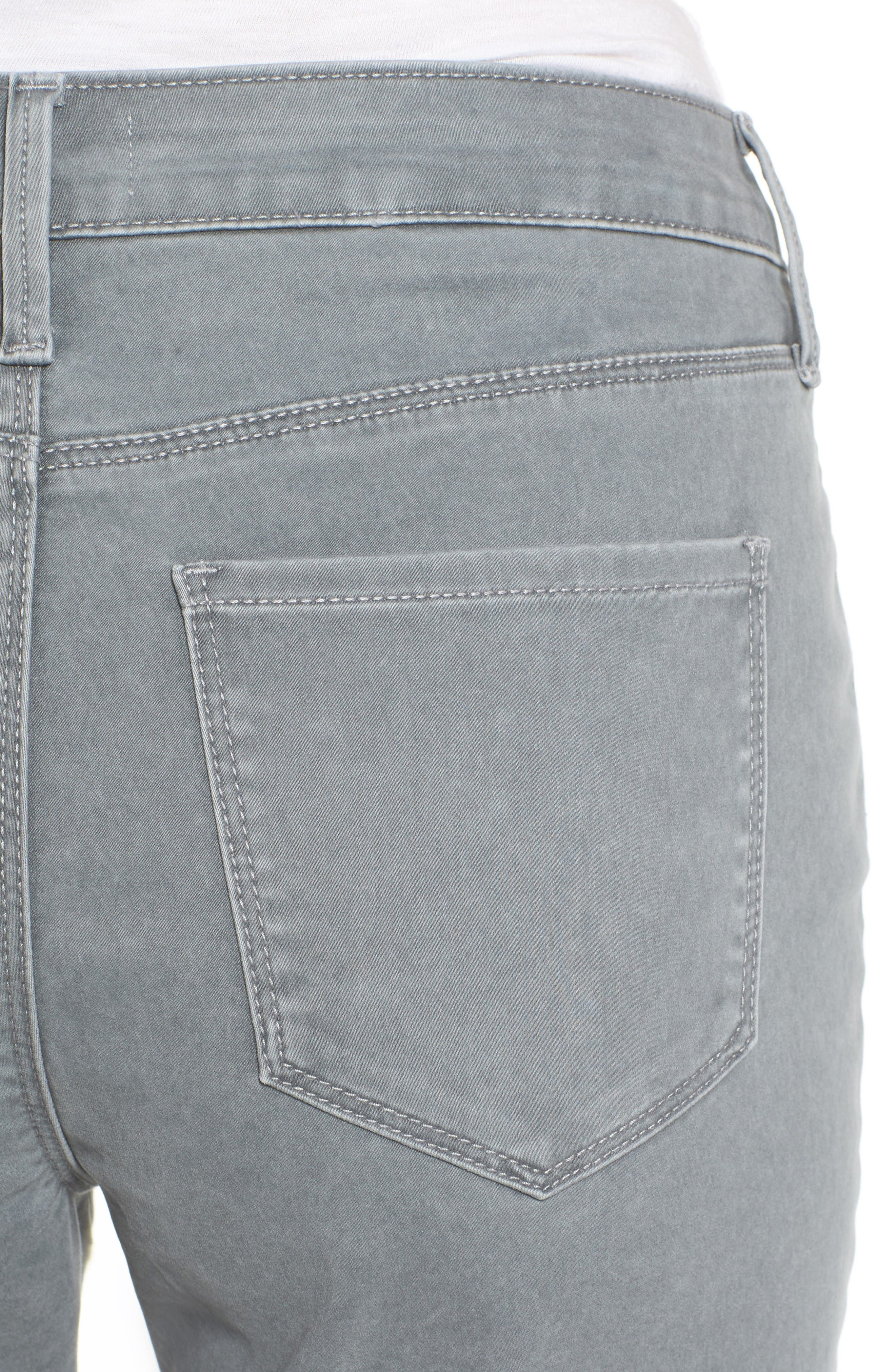 Alternate Image 5  - NYDJ Zip Pocket Skinny Chinos