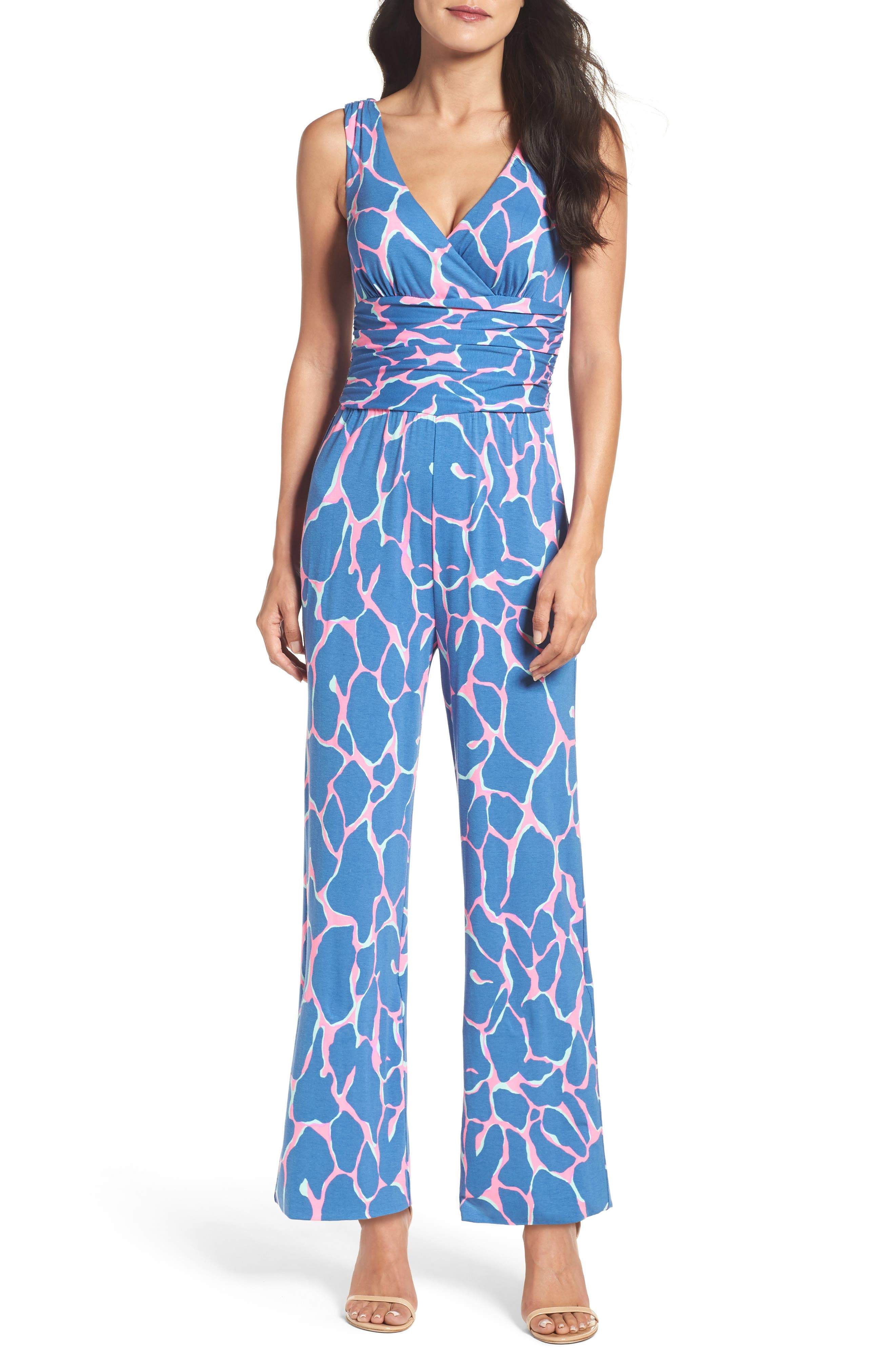 Alternate Image 1 Selected - Lilly Pulitzer® Sloane Wide Leg Jumpsuit