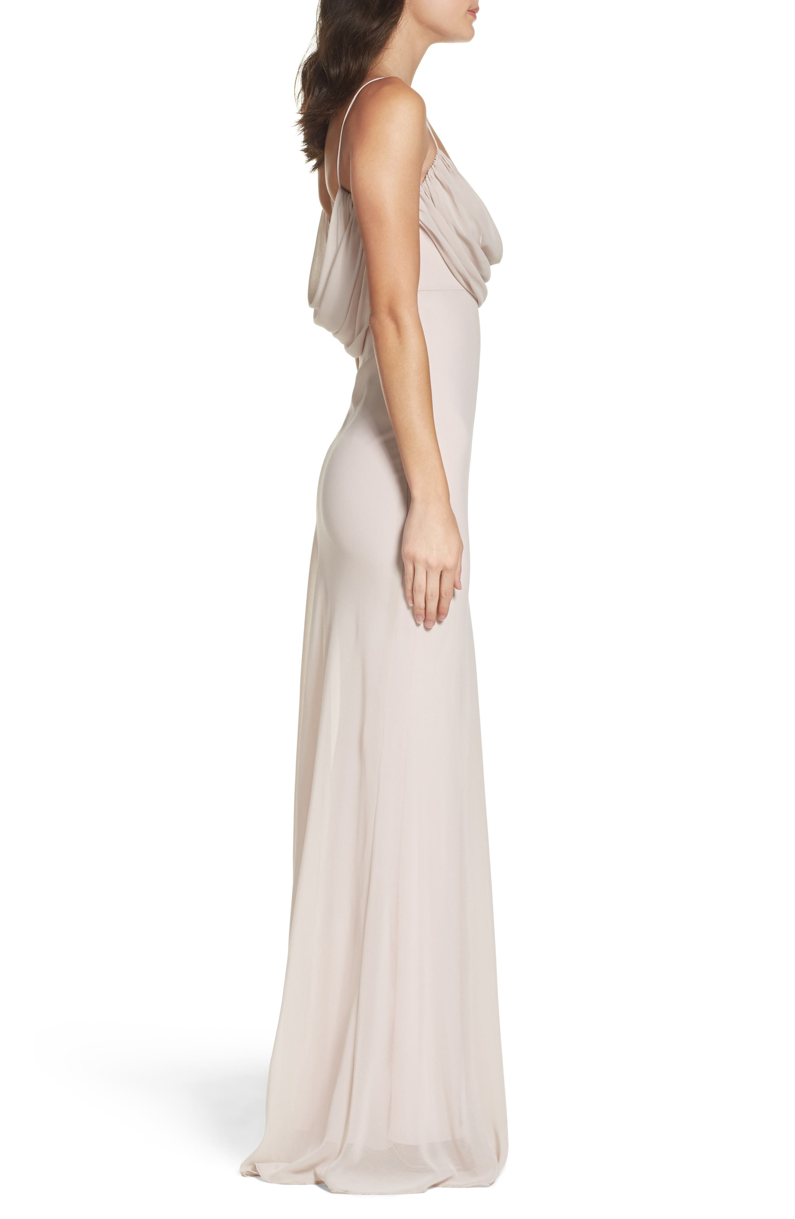 Alternate Image 3  - Katie May Eden Chiffon Gown