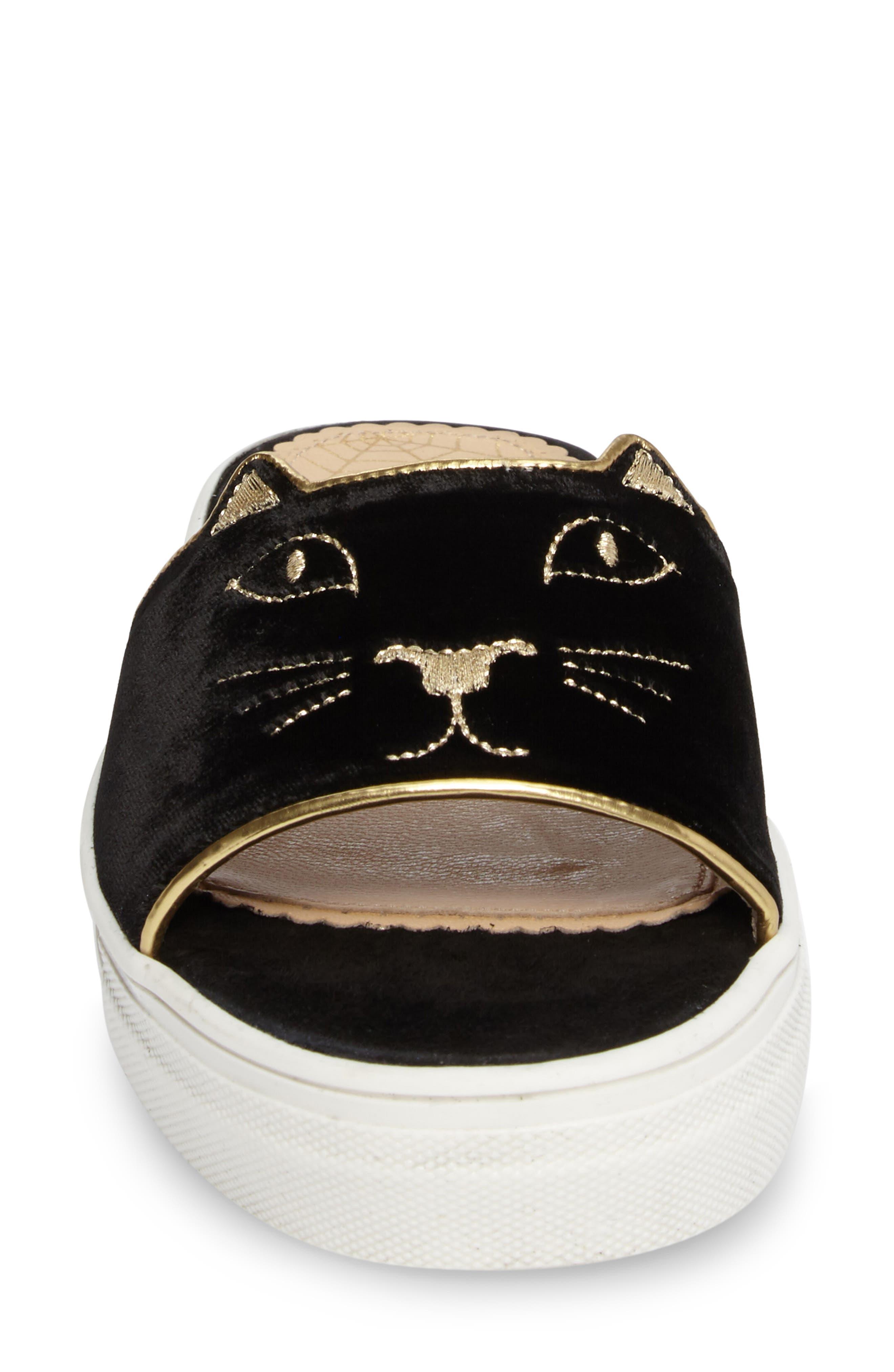Alternate Image 4  - Charlotte Olympia Kitty Slide Sandal (Women)
