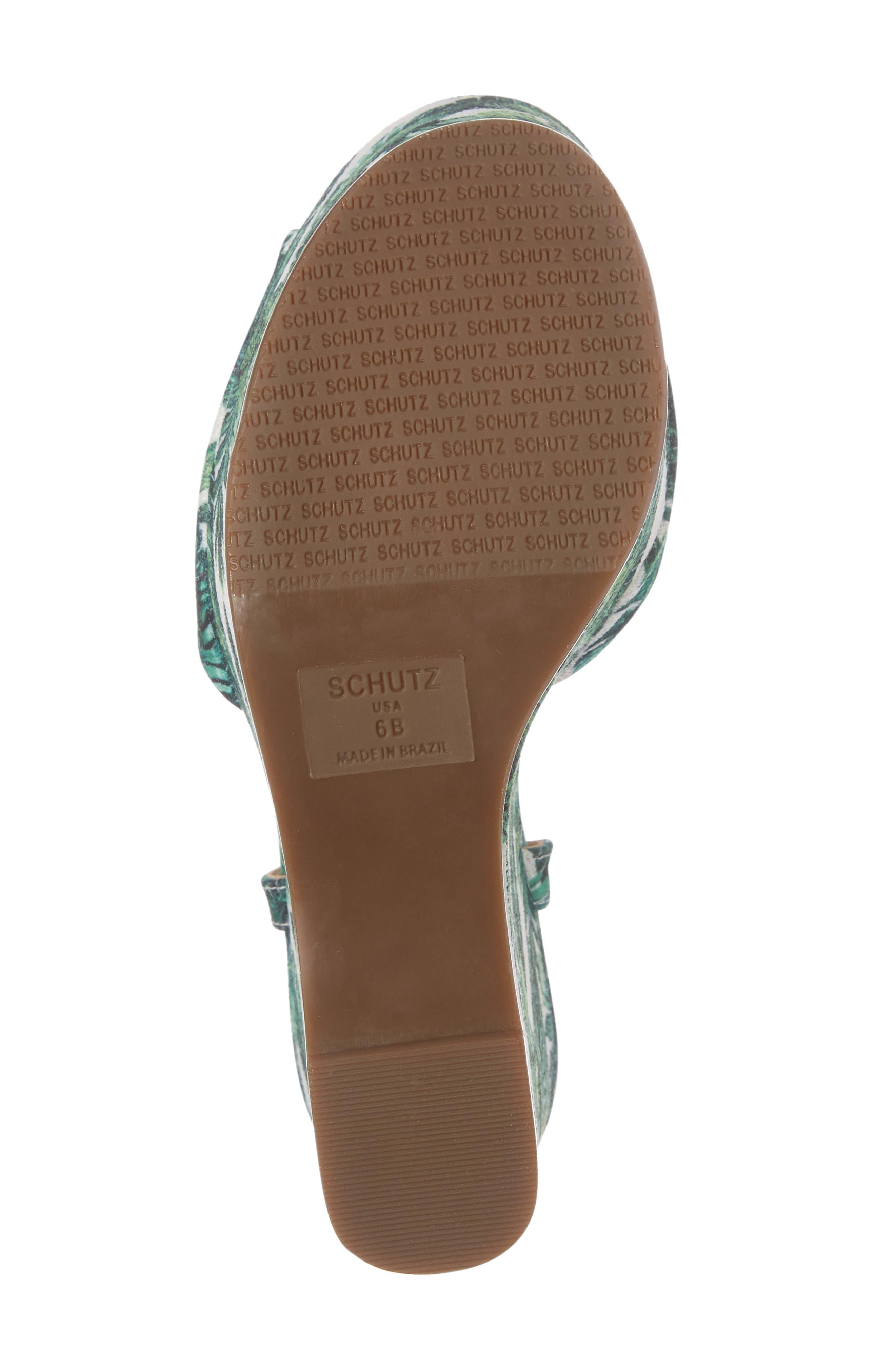 Alternate Image 6  - Schutz Patrycia Wedge Sandal (Women)