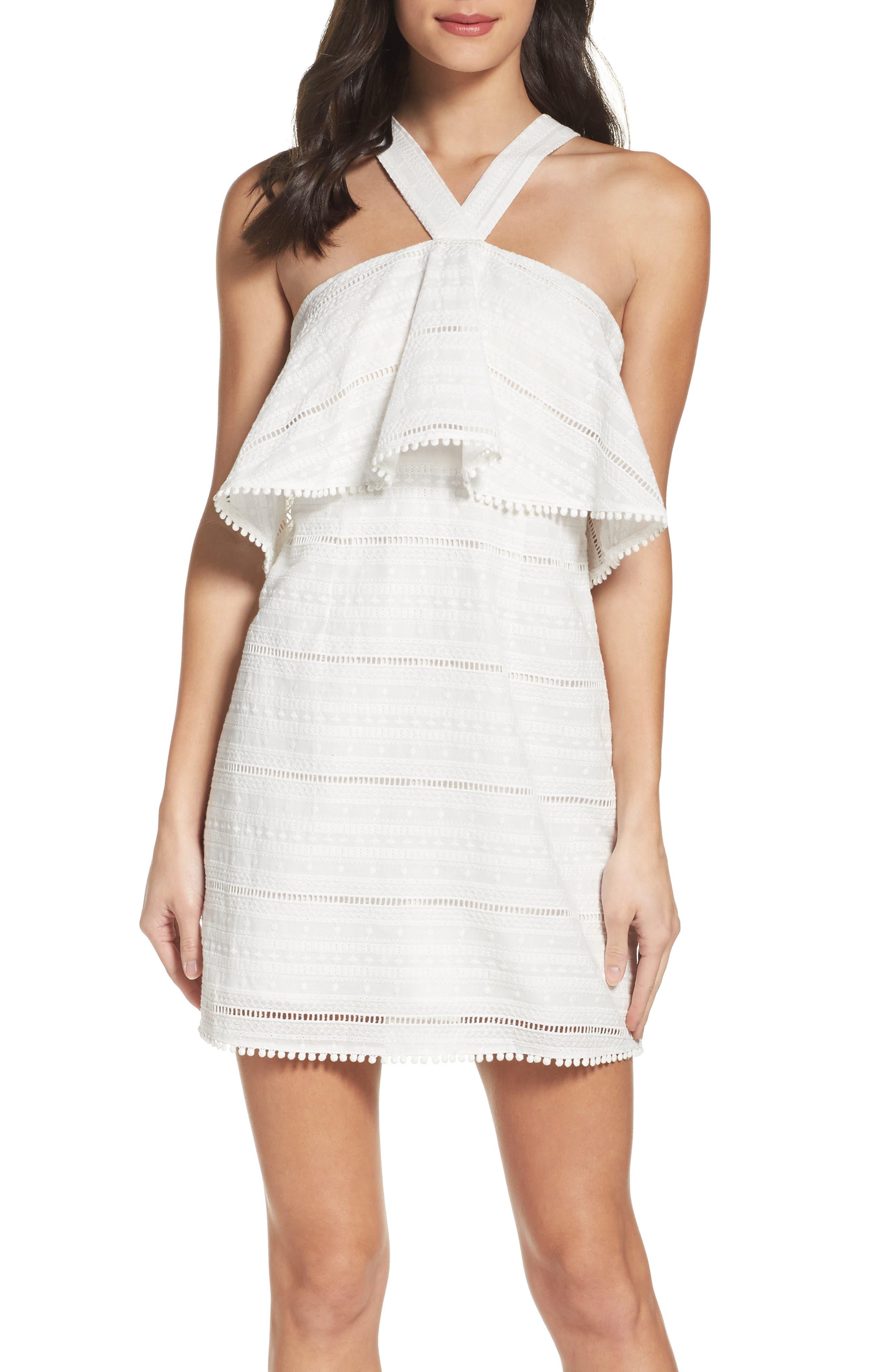 Alternate Image 4  - Chelsea28 Popover Dress