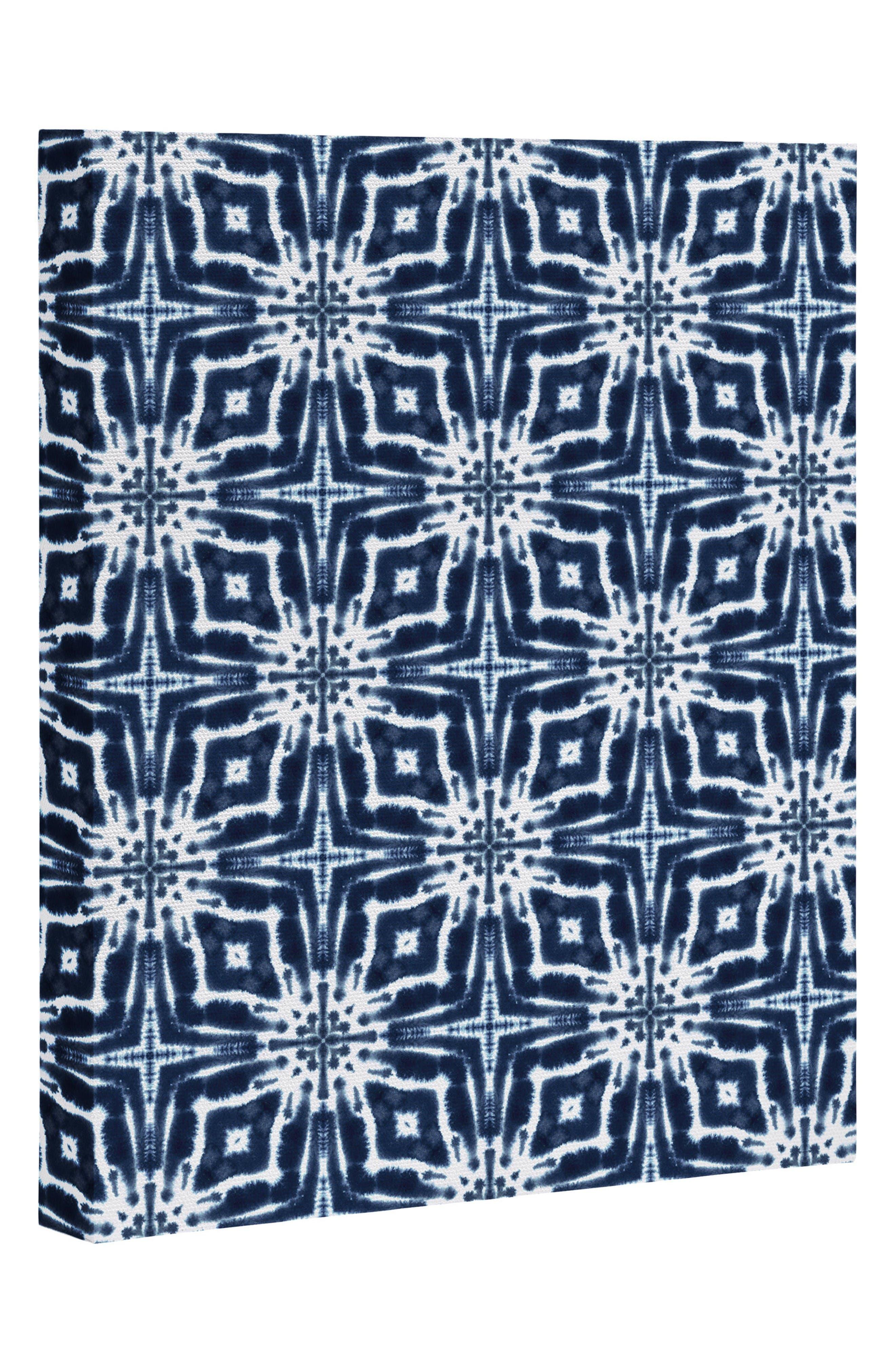 Alternate Image 1 Selected - Deny Designs Indigo Canvas Print