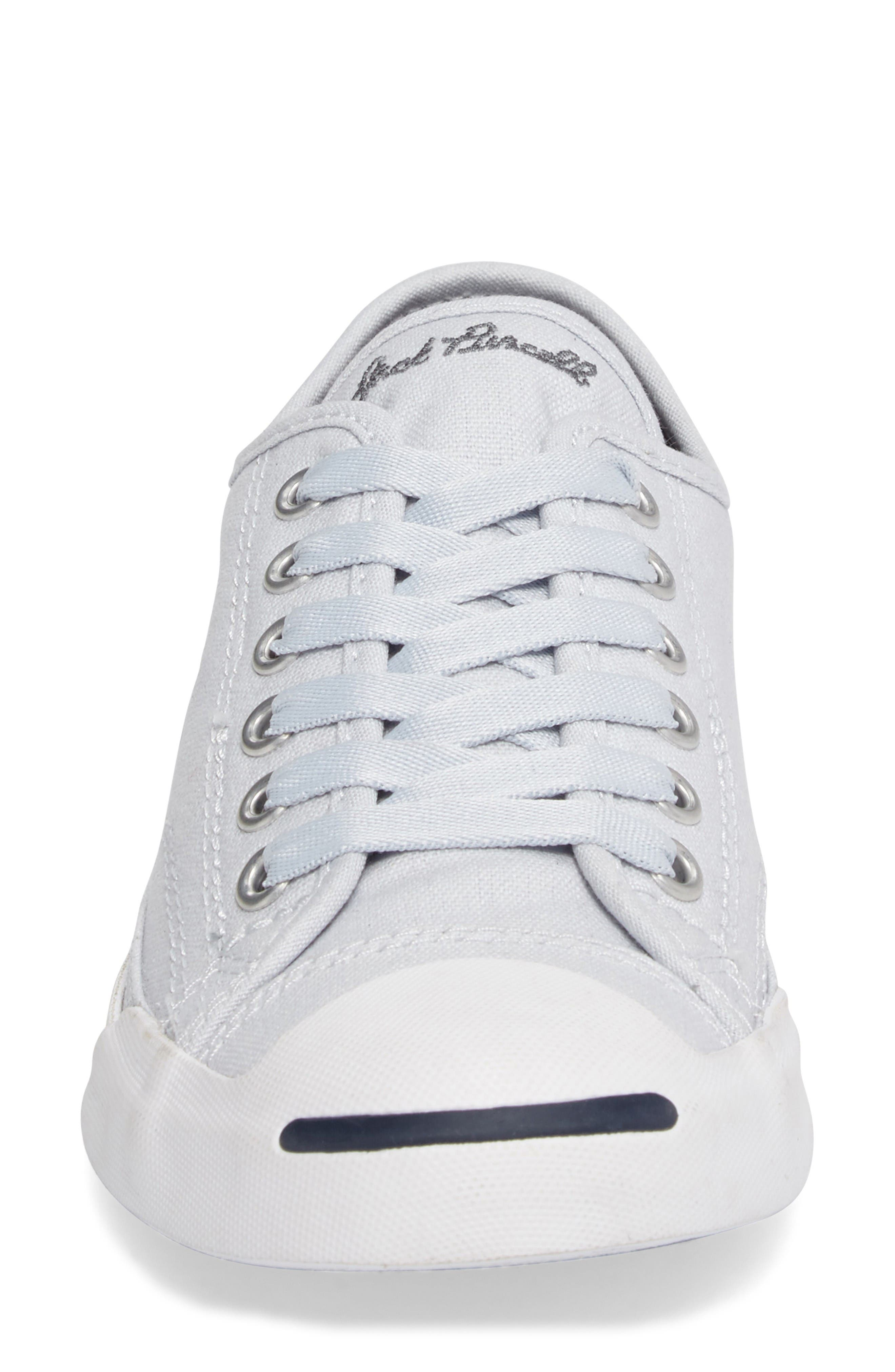Jack Purcell Signature Ox Low Top Sneaker,                             Alternate thumbnail 5, color,                             Platinum