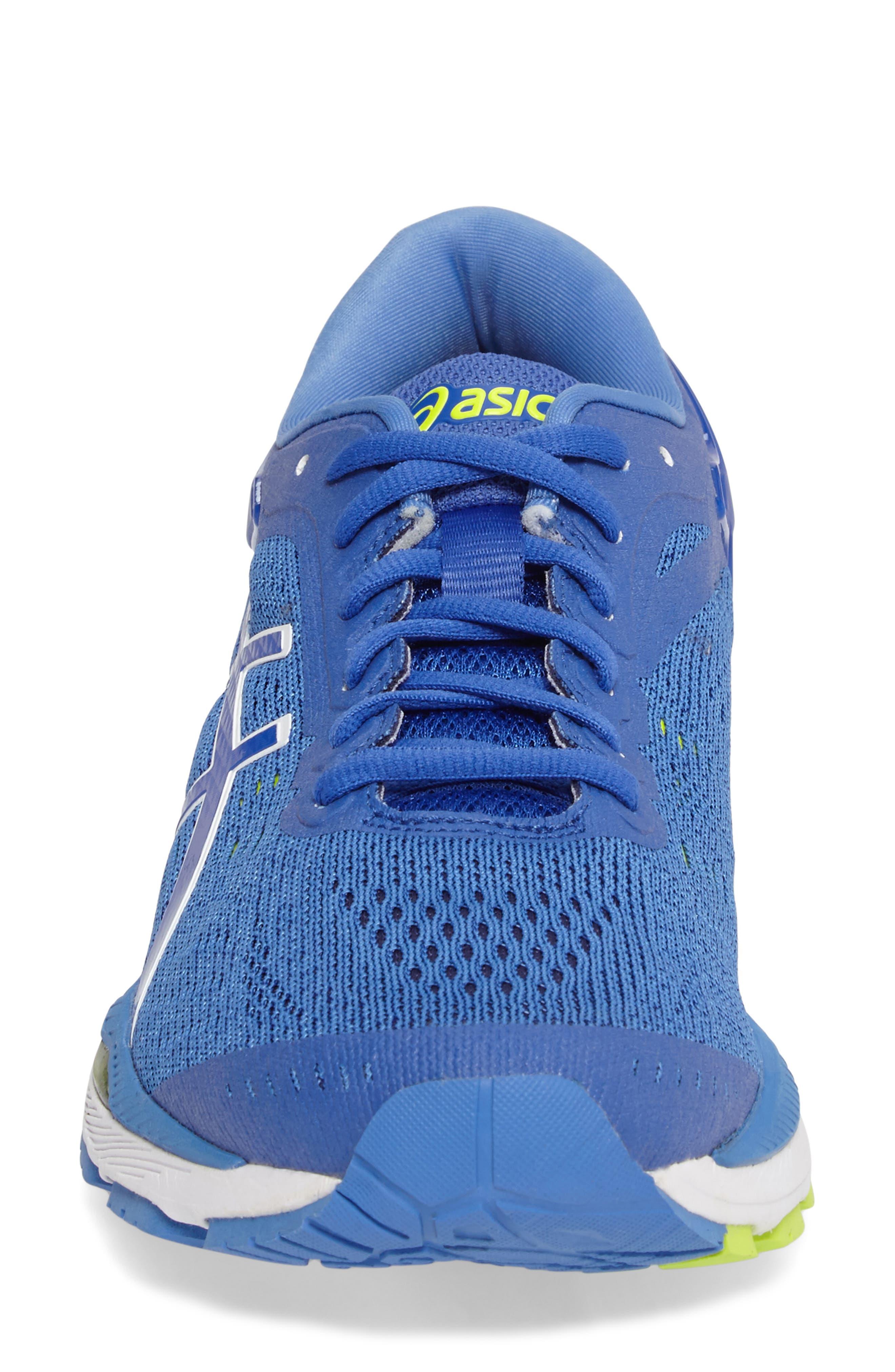 GEL-Kayano<sup>®</sup> 24 Running Shoe,                             Alternate thumbnail 4, color,                             Blue Purple/ Regatta/ White
