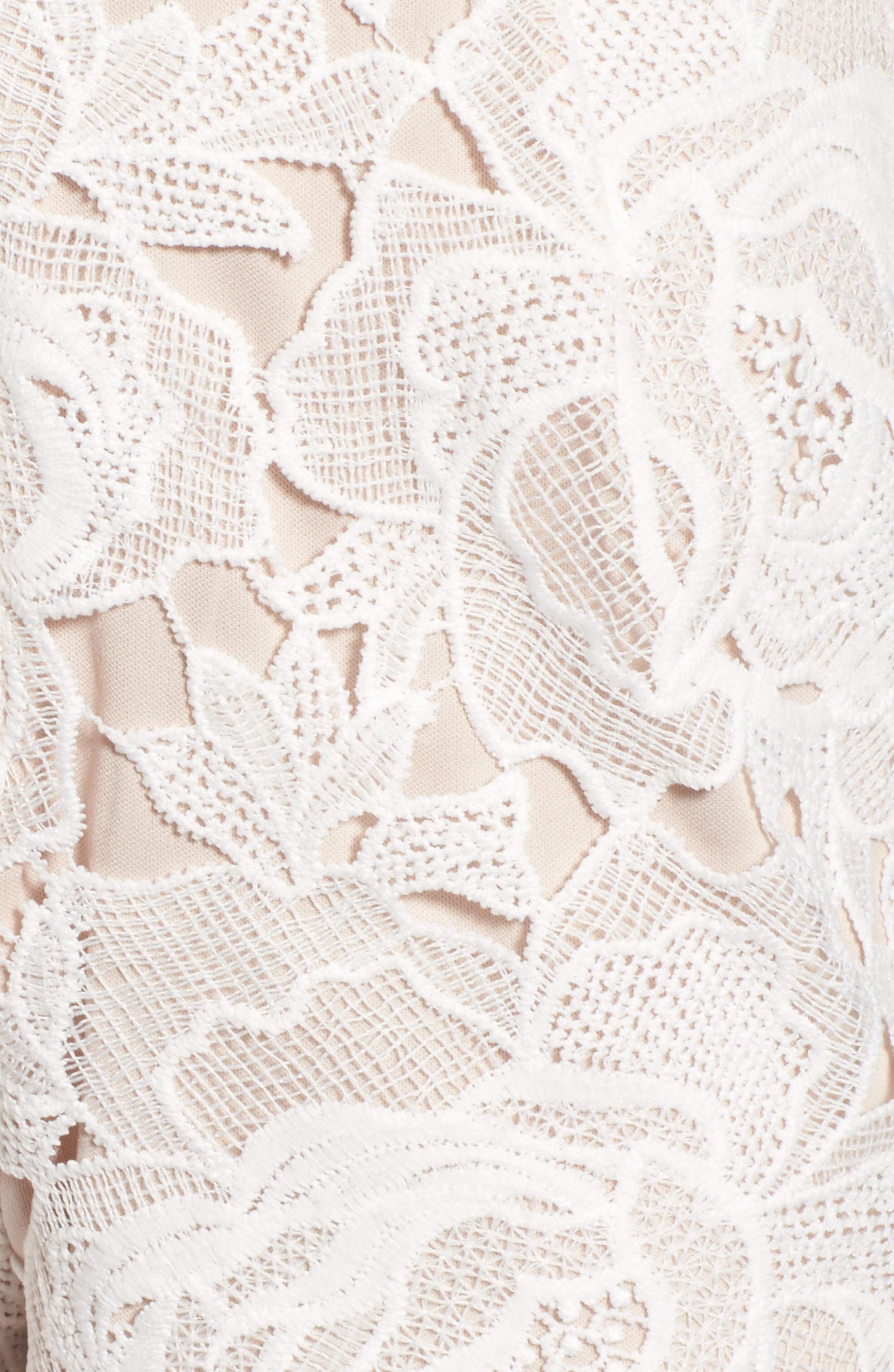 Alternate Image 6  - Missguided Ladder Inset Lace Romper
