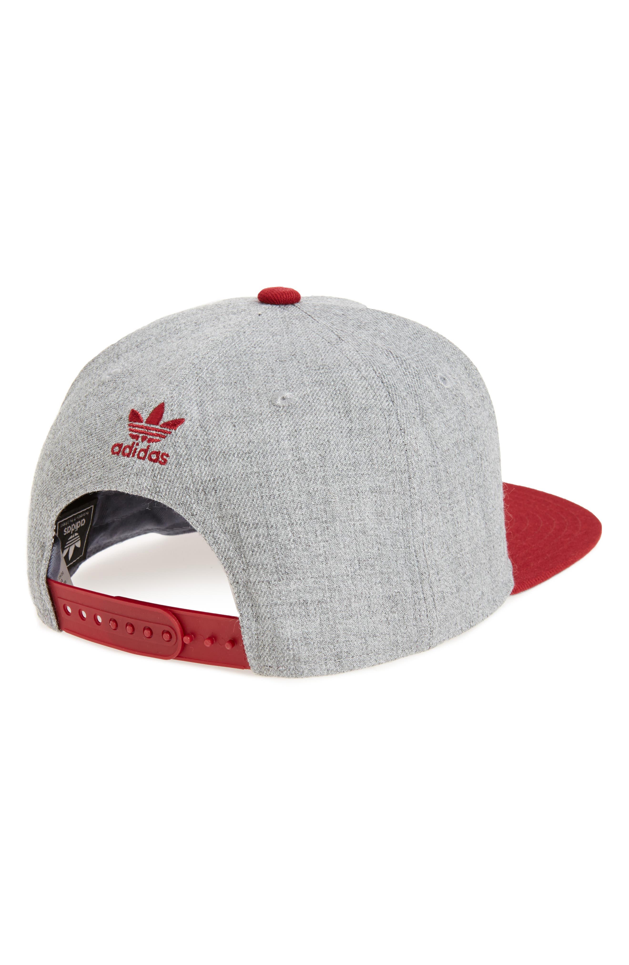 Alternate Image 2  - adidas Originals 'Trefoil Chain' Snapback Cap