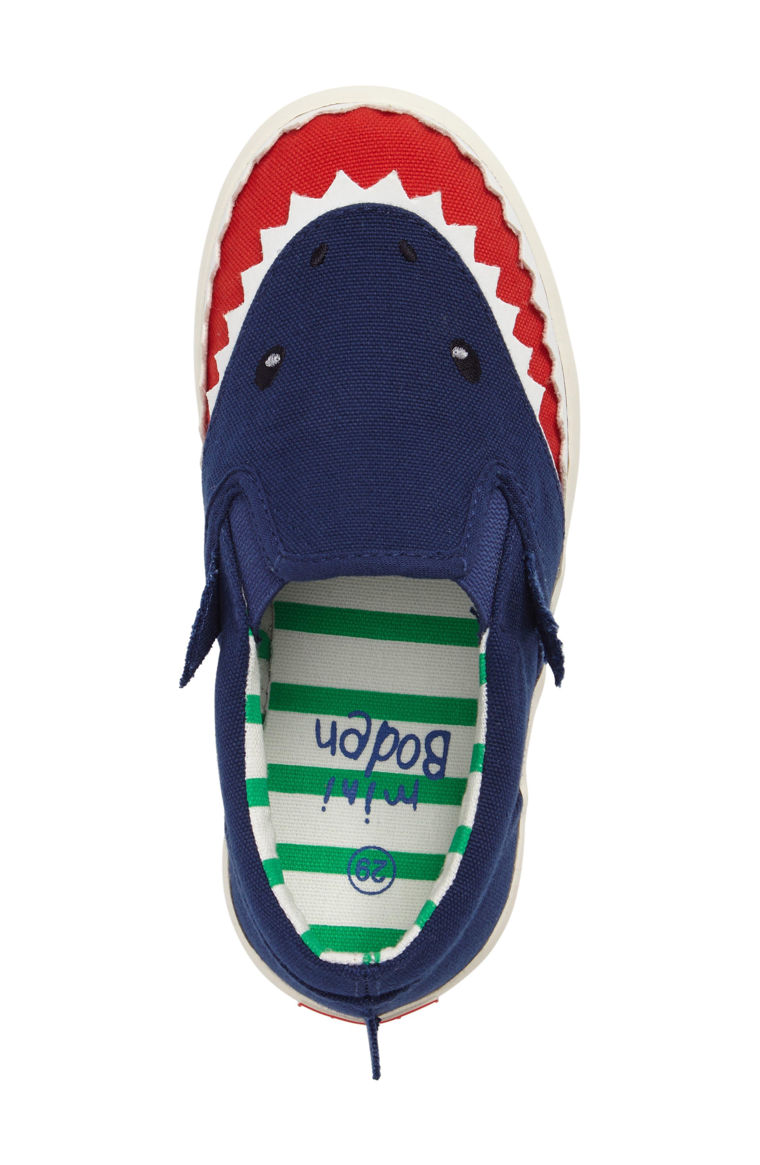 Alternate Image 5  - Mini Boden Slip-On Sneaker (Toddler, Little Kid & Big Kid)