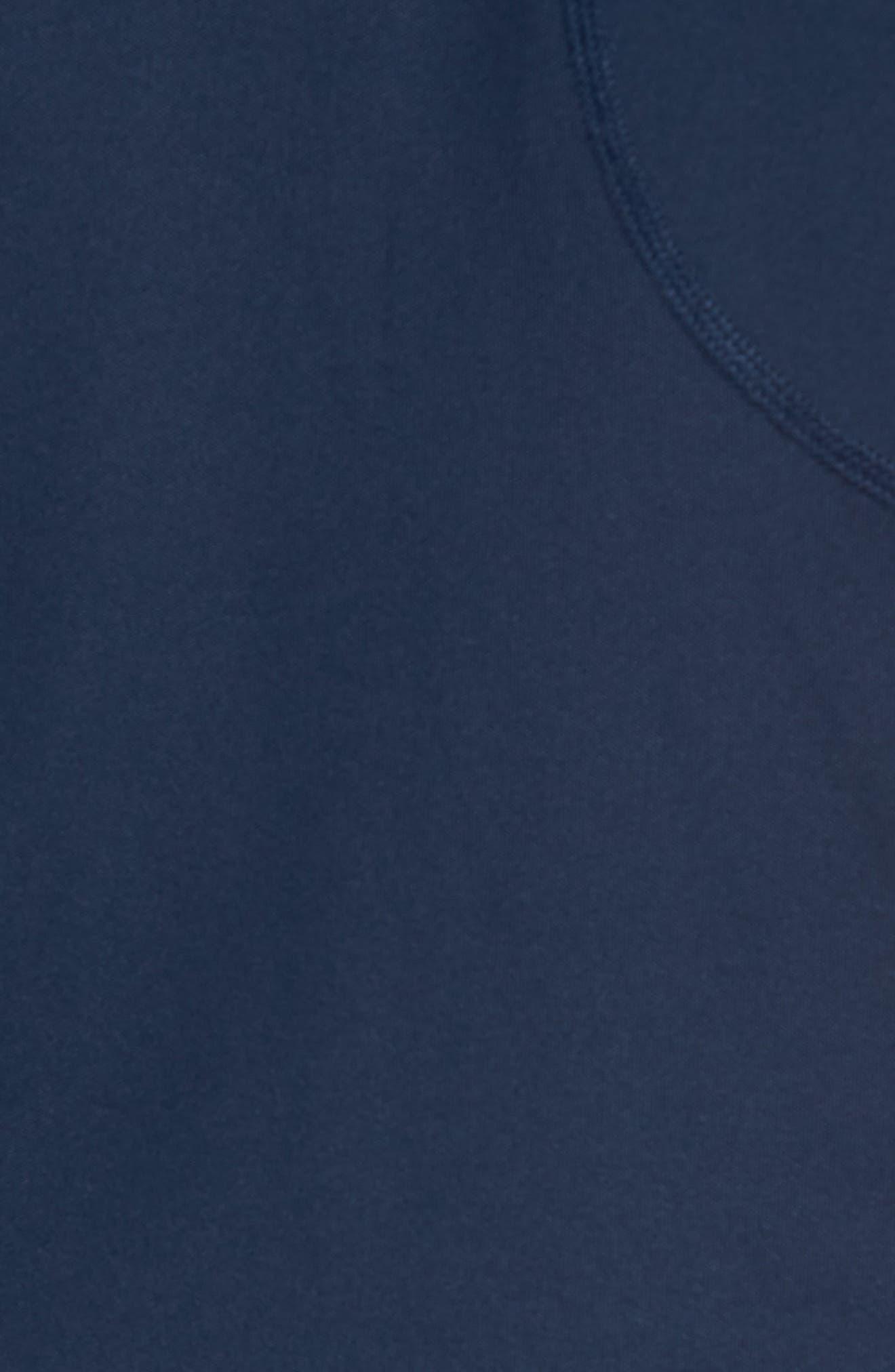 M-Flex Flatiron Slim Fit Golf Polo,                             Alternate thumbnail 5, color,                             Navy