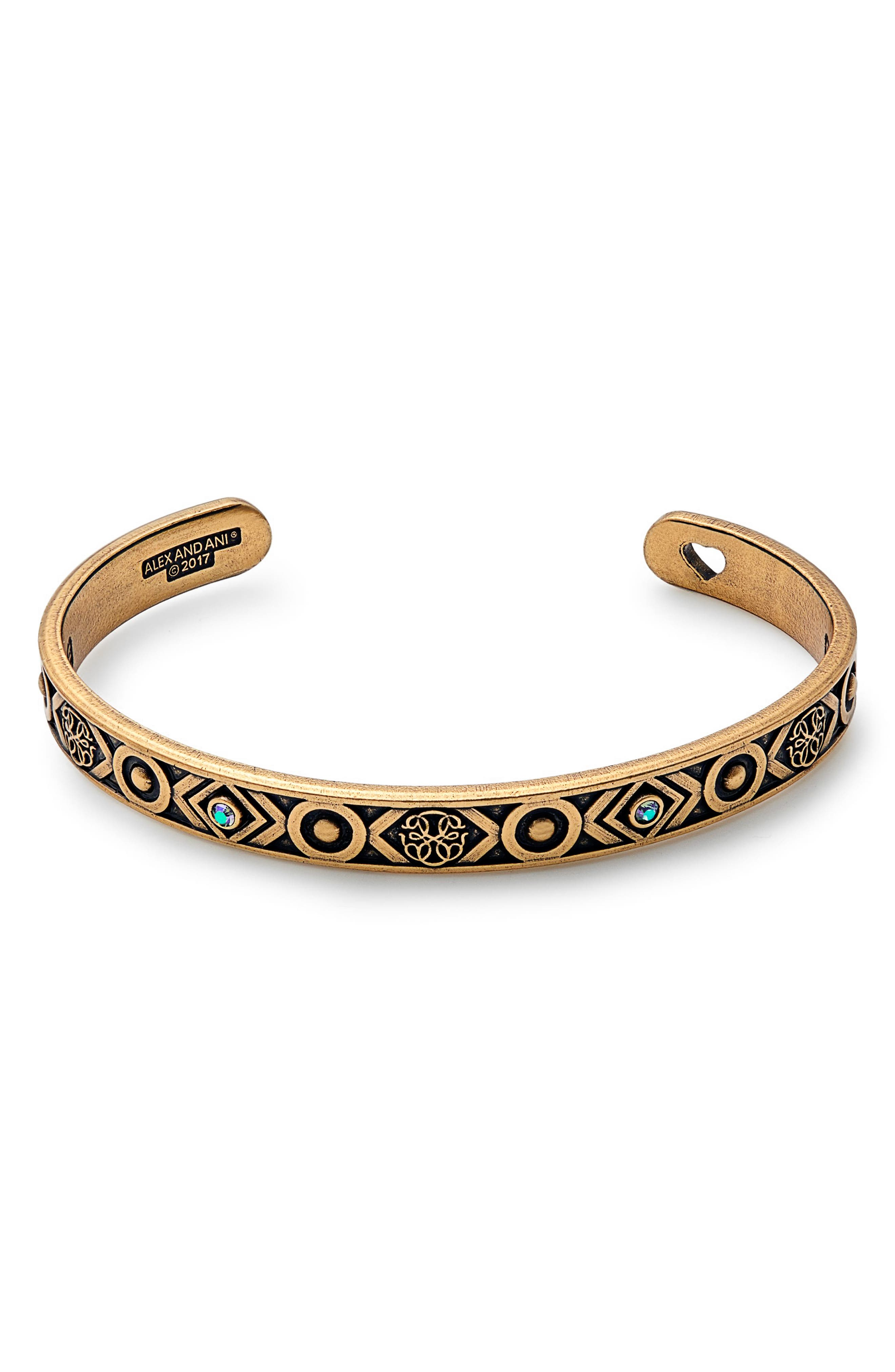 Path of Life Cuff,                         Main,                         color, Gold