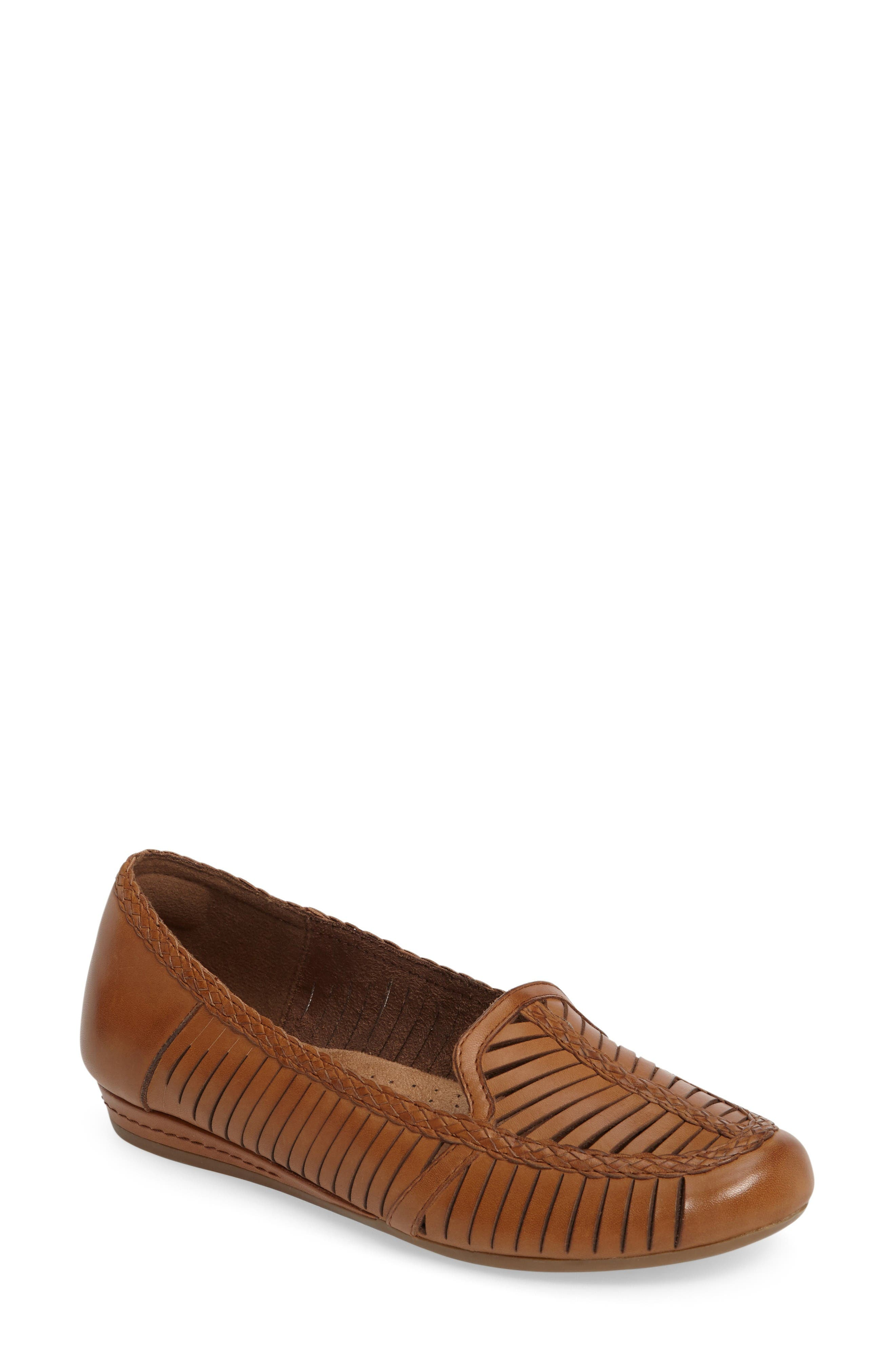 Galway Loafer,                             Main thumbnail 1, color,                             Tan Multi Leather