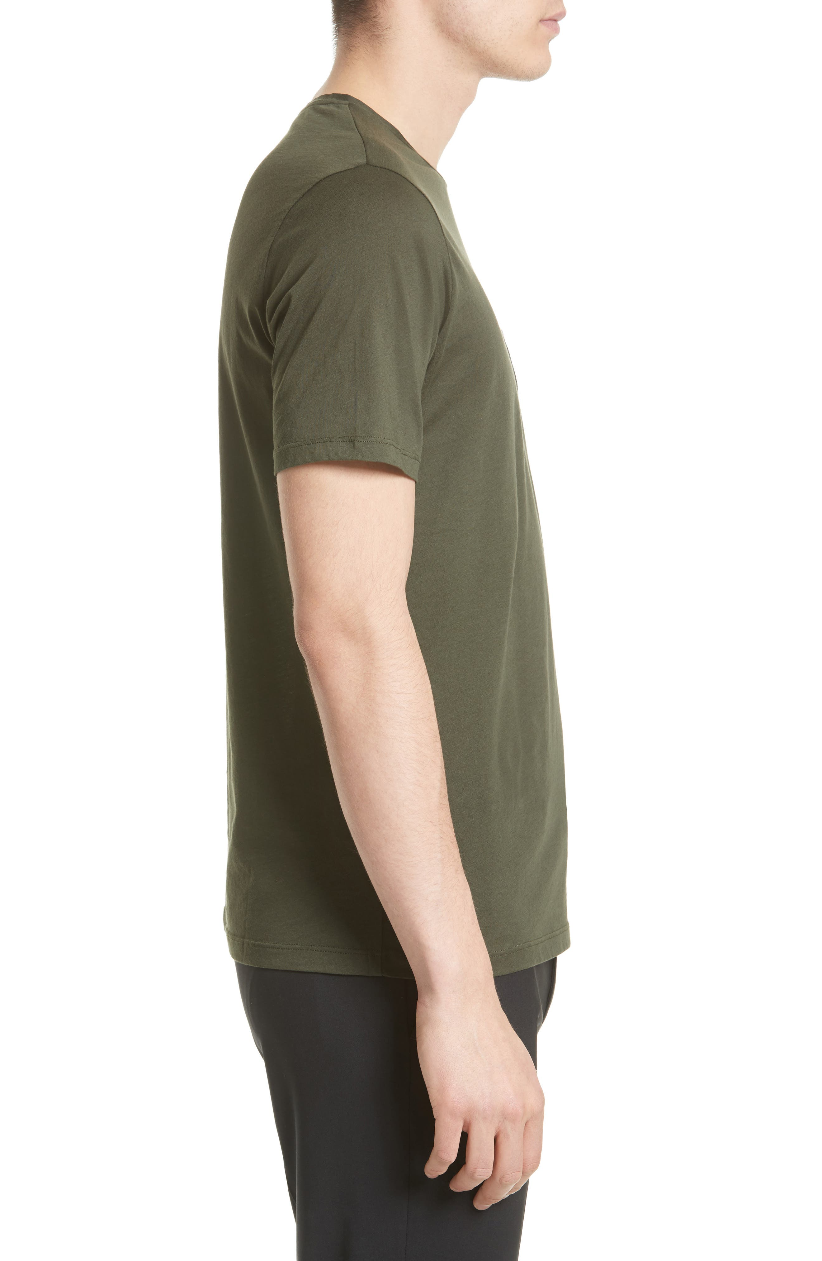 Alternate Image 3  - The Kooples Leather Pocket T-Shirt