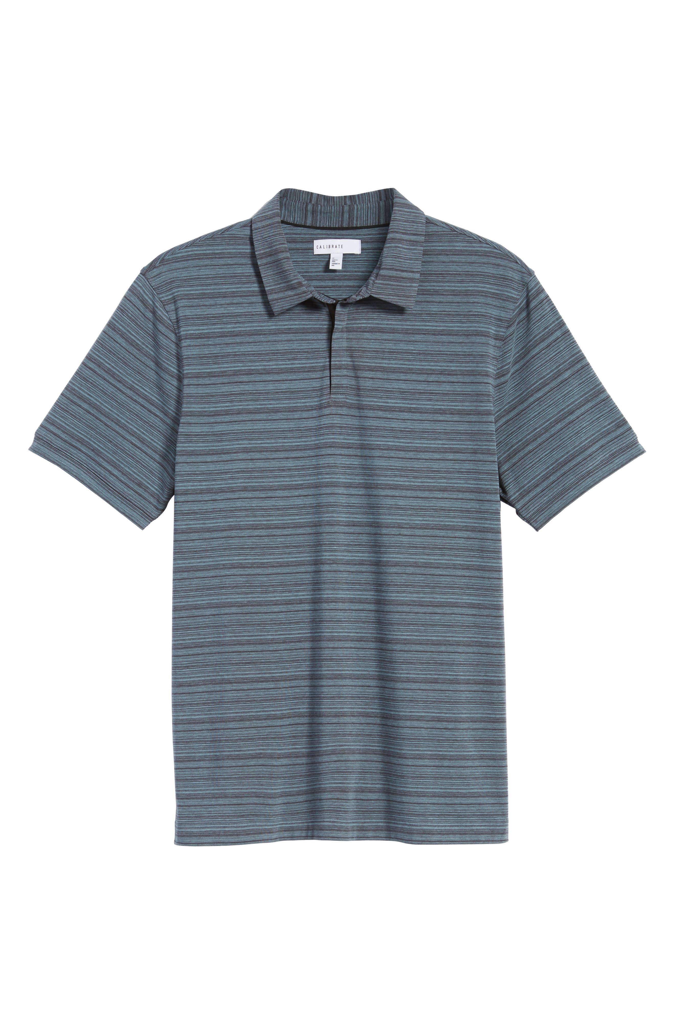 Alternate Image 5  - Calibrate Trim Fit Stripe Polo