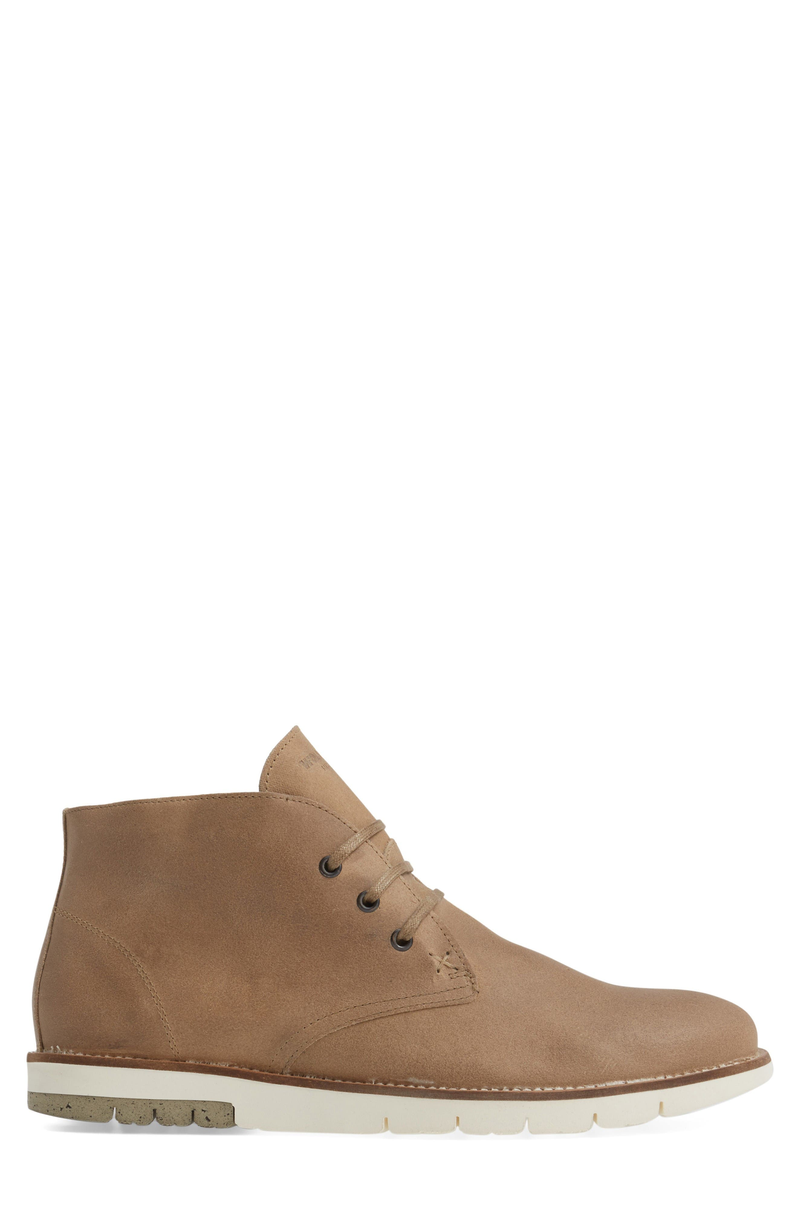 Gibson Chukka Boot,                             Alternate thumbnail 3, color,                             Stone Suede