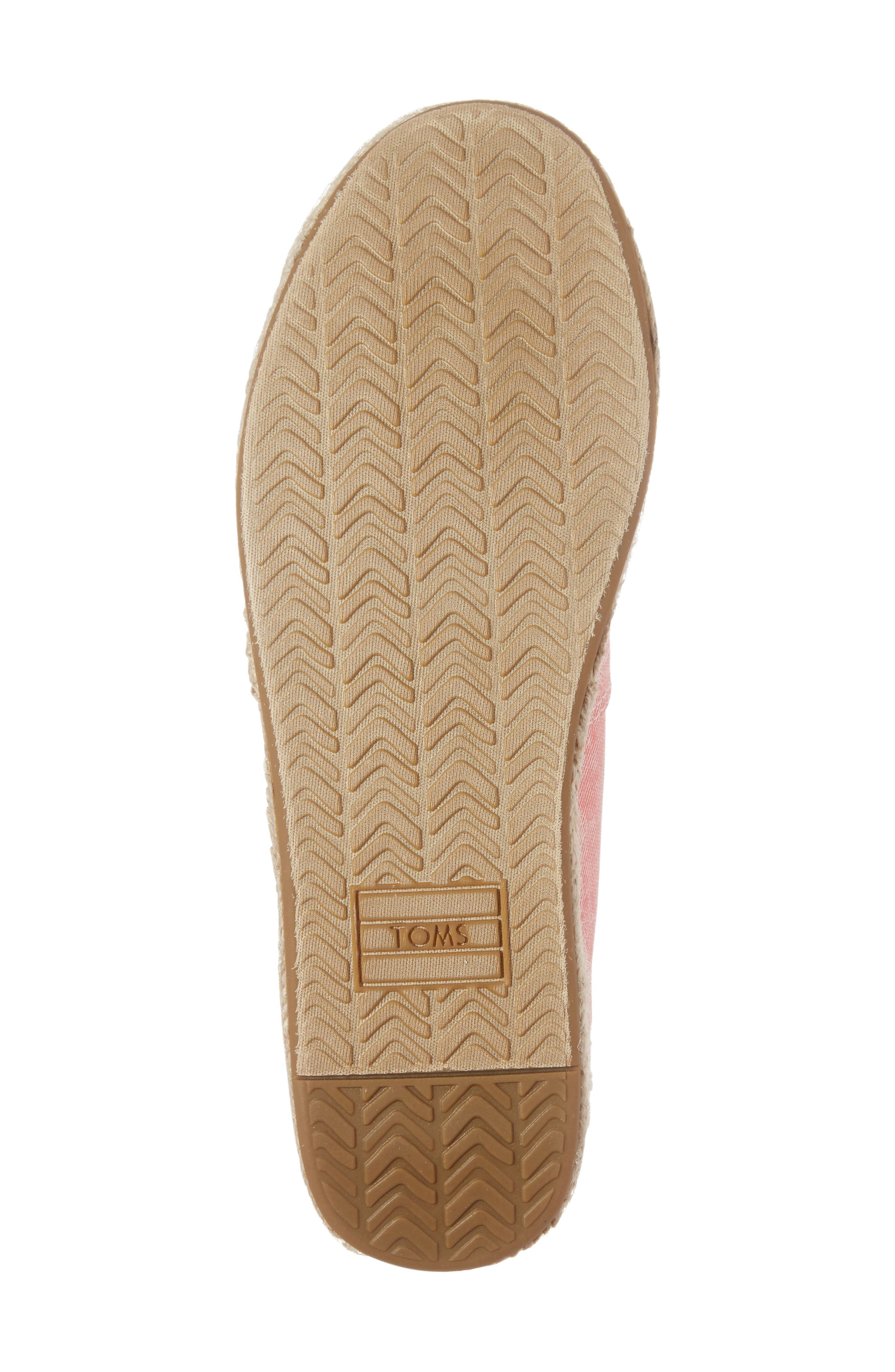 Alternate Image 6  - TOMS Open Toe Platform Espadrille (Women)