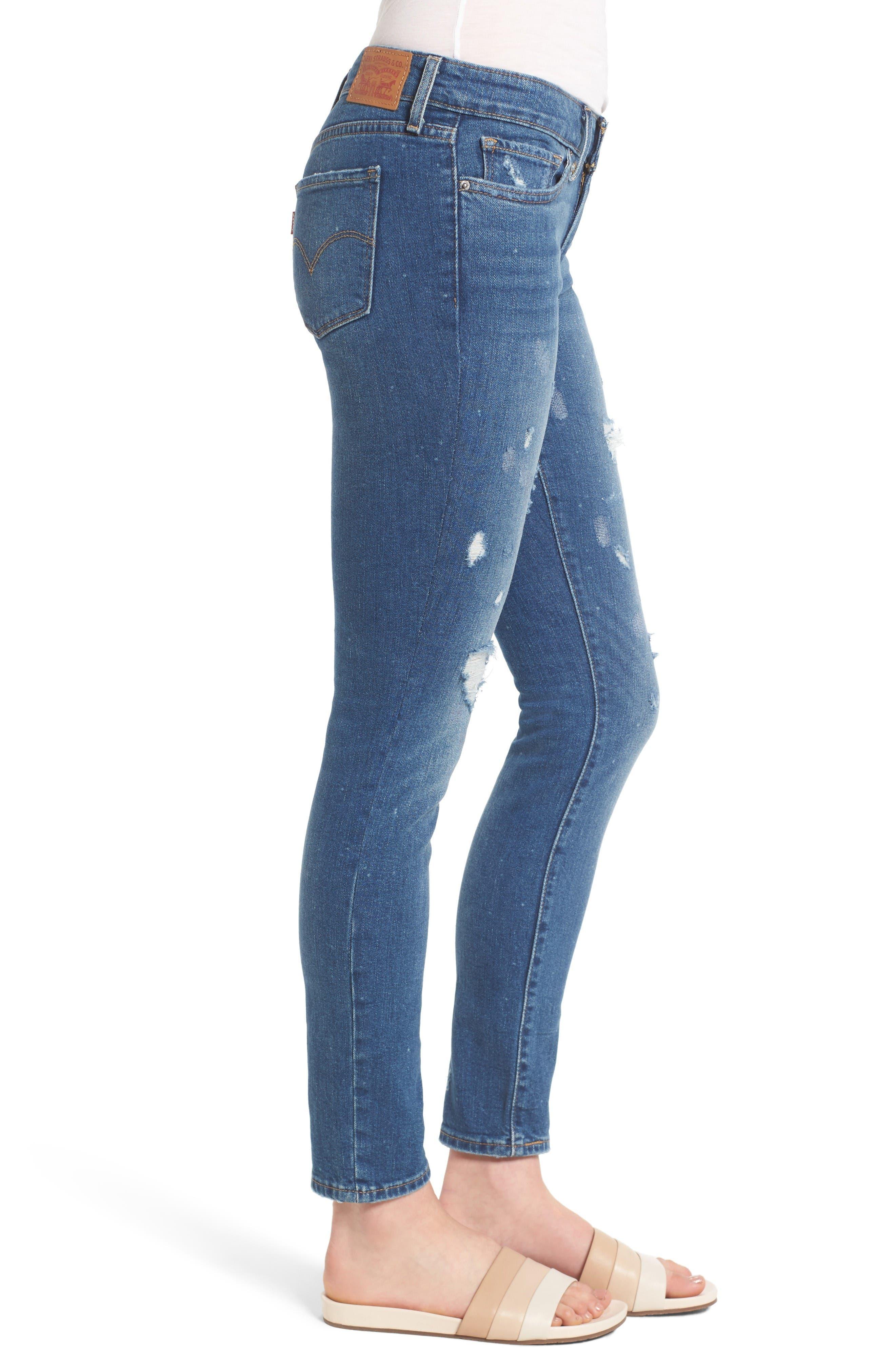 Alternate Image 3  - Levi's® 711 Skinny Jeans