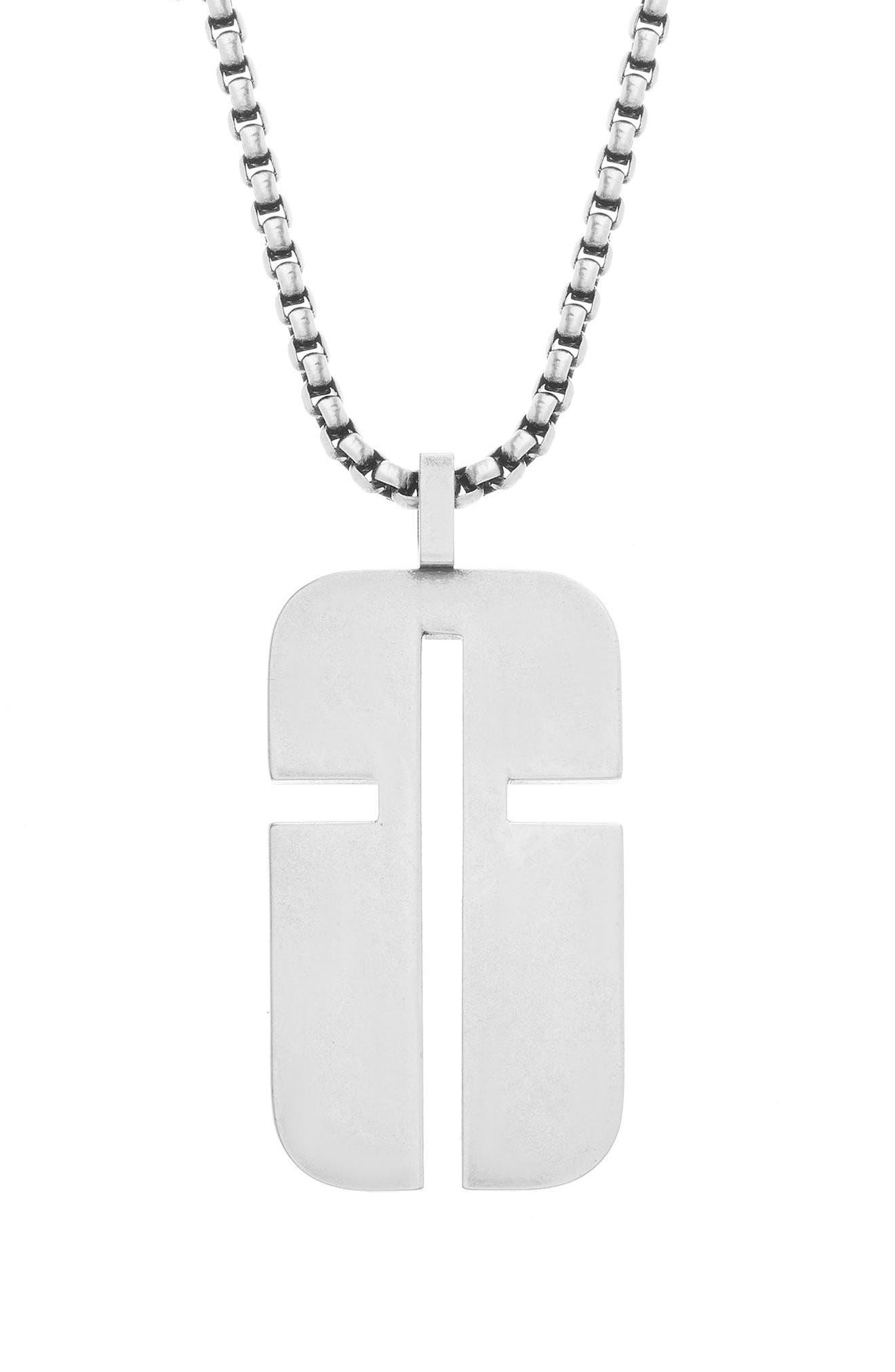 Main Image - Steve Madden Cross Pendant Necklace