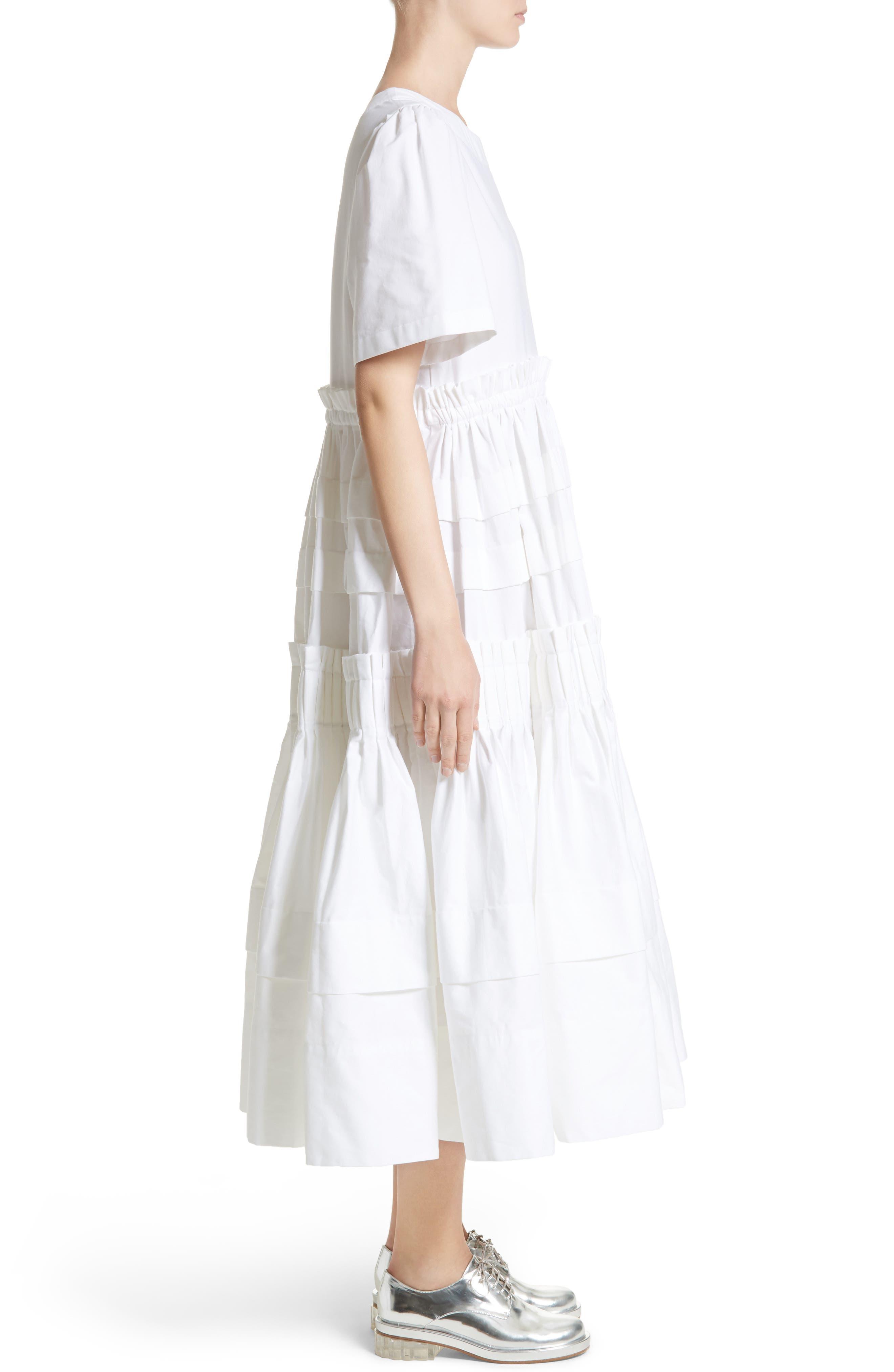 Mathilda Maxi Dress,                             Alternate thumbnail 7, color,                             White