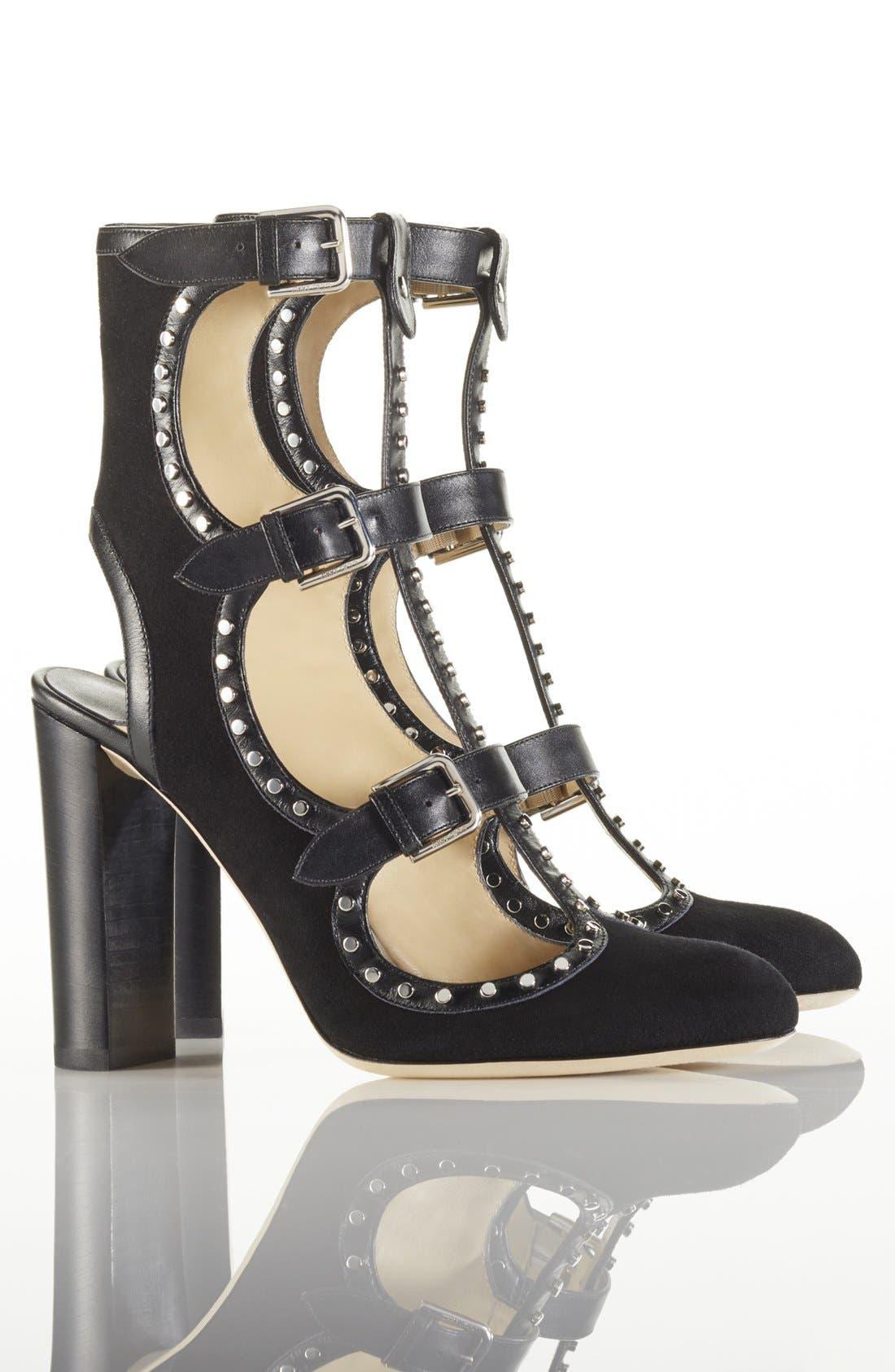 Alternate Image 5  - Chloé Orlando Short Button Boot (Women)