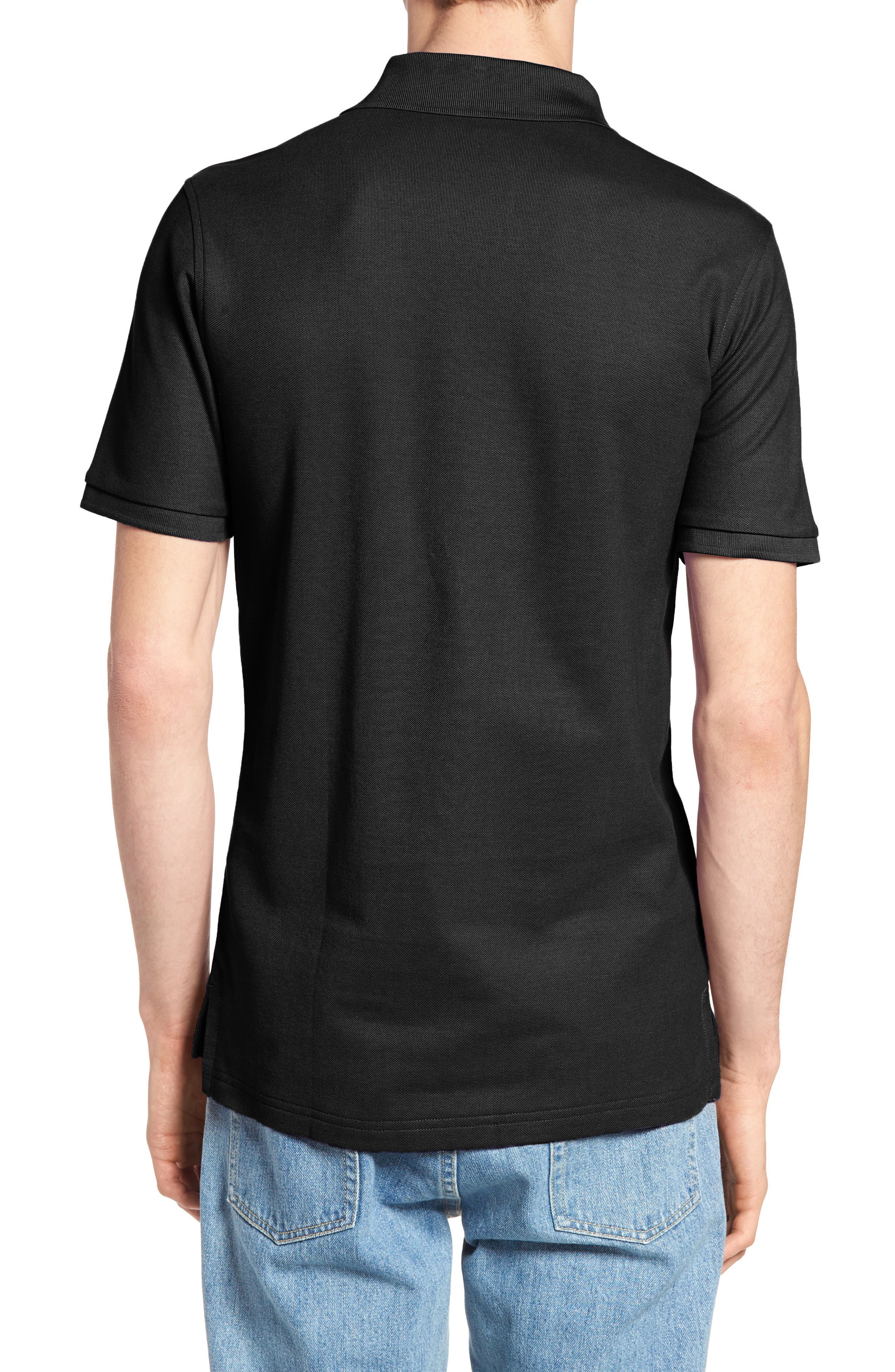 The Classic Piqué Polo,                             Alternate thumbnail 2, color,                             Black